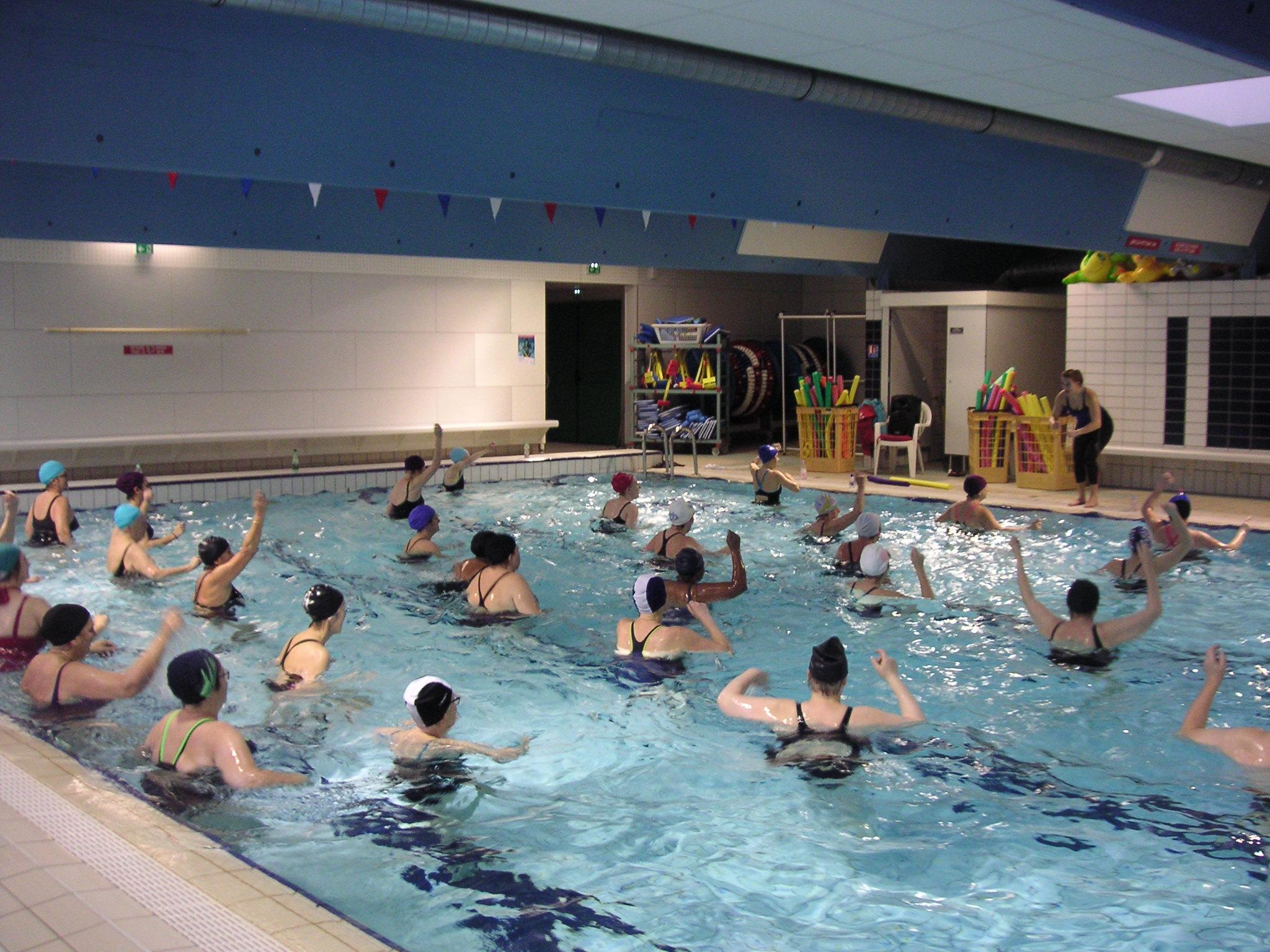 Aquagym | Morsang Essonne Natation dedans Piscine Val D Orge