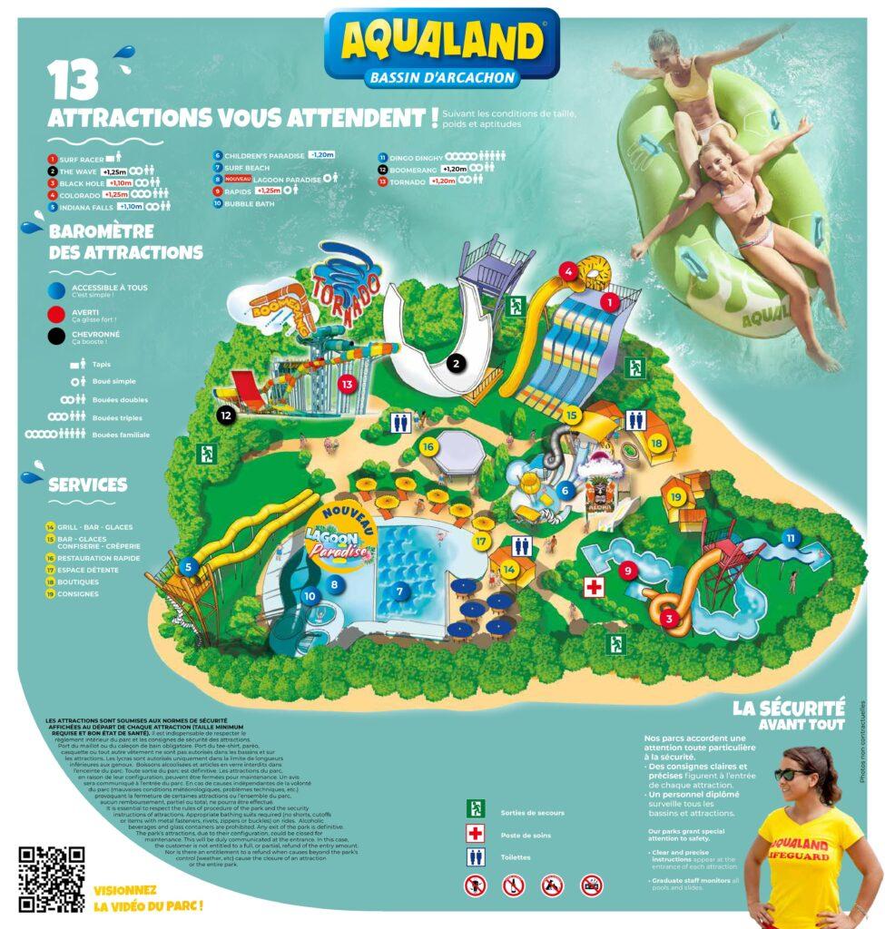 Aqualand | Parc Aquatique Bassin D'arcachon encequiconcerne Piscine Arcachon Horaires