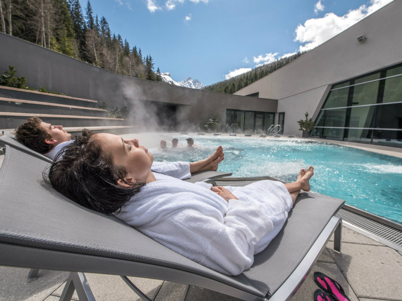 Aquamotion And Outdoor Swimming Pool | Courchevel destiné Piscine Courchevel