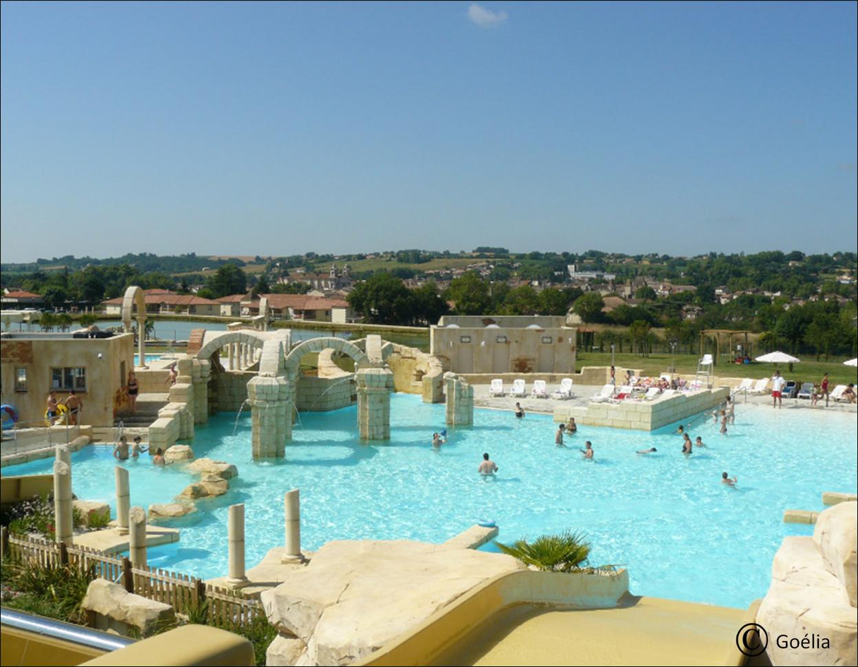 Aquaresort | Residence De Vacances, Parc Aquatique Et Vacances destiné Nerac Piscine