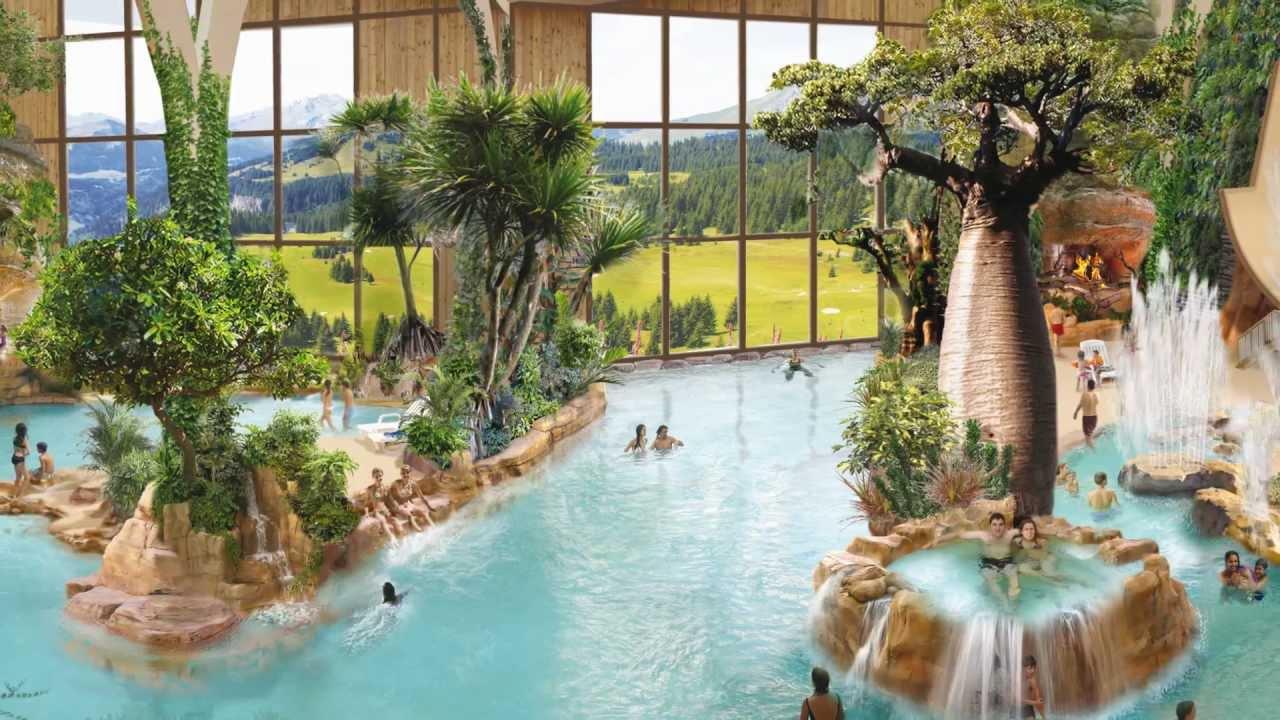 Aquariaz - Un Paradis Tropical À La Montagne concernant Avoriaz Piscine