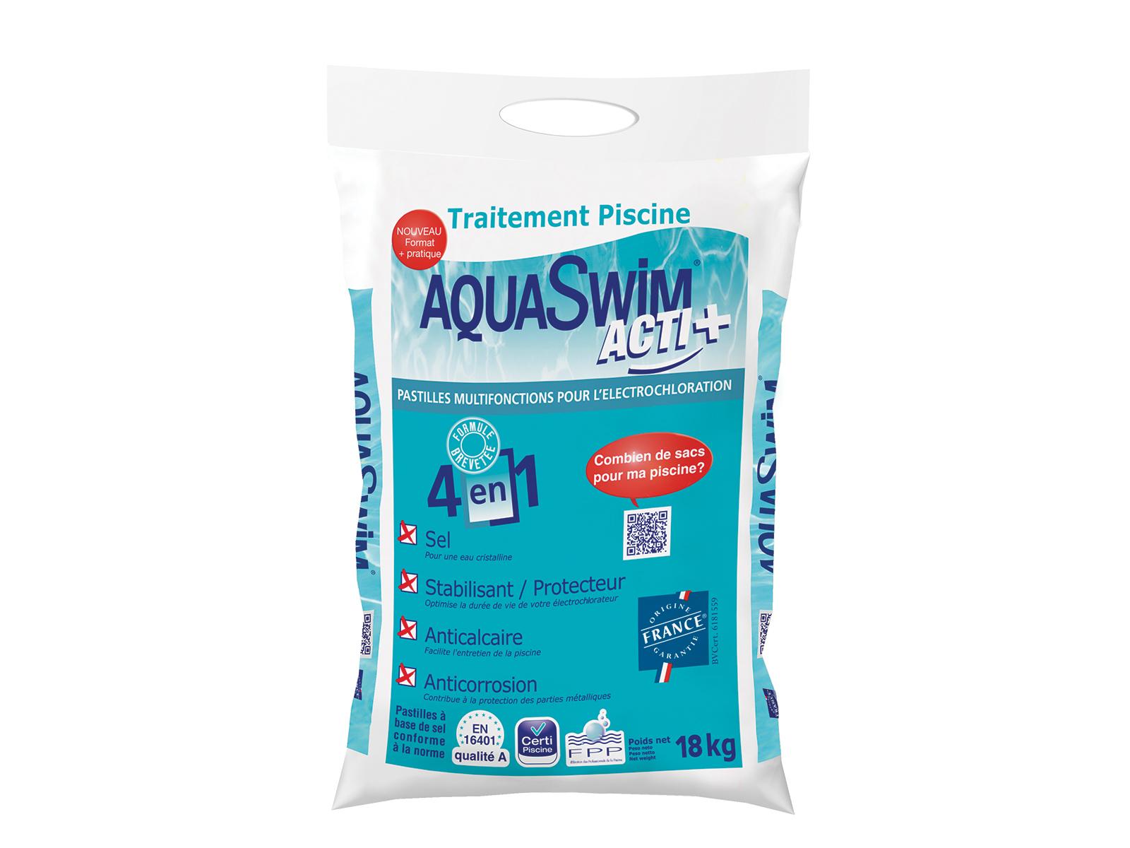 Aquaswim Acti+ Sel Piscine serapportantà Sel De Piscine