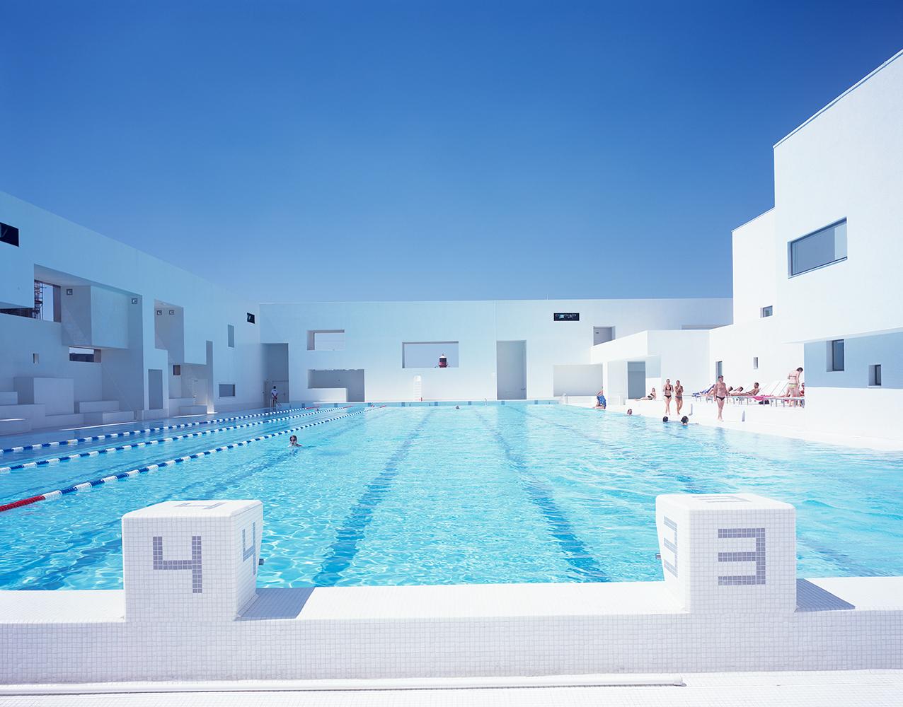 """Aquatic Complex """"les Bains Des Docks"""" — Ateliers Jean Nouvel intérieur Piscine Des Docks Le Havre"""