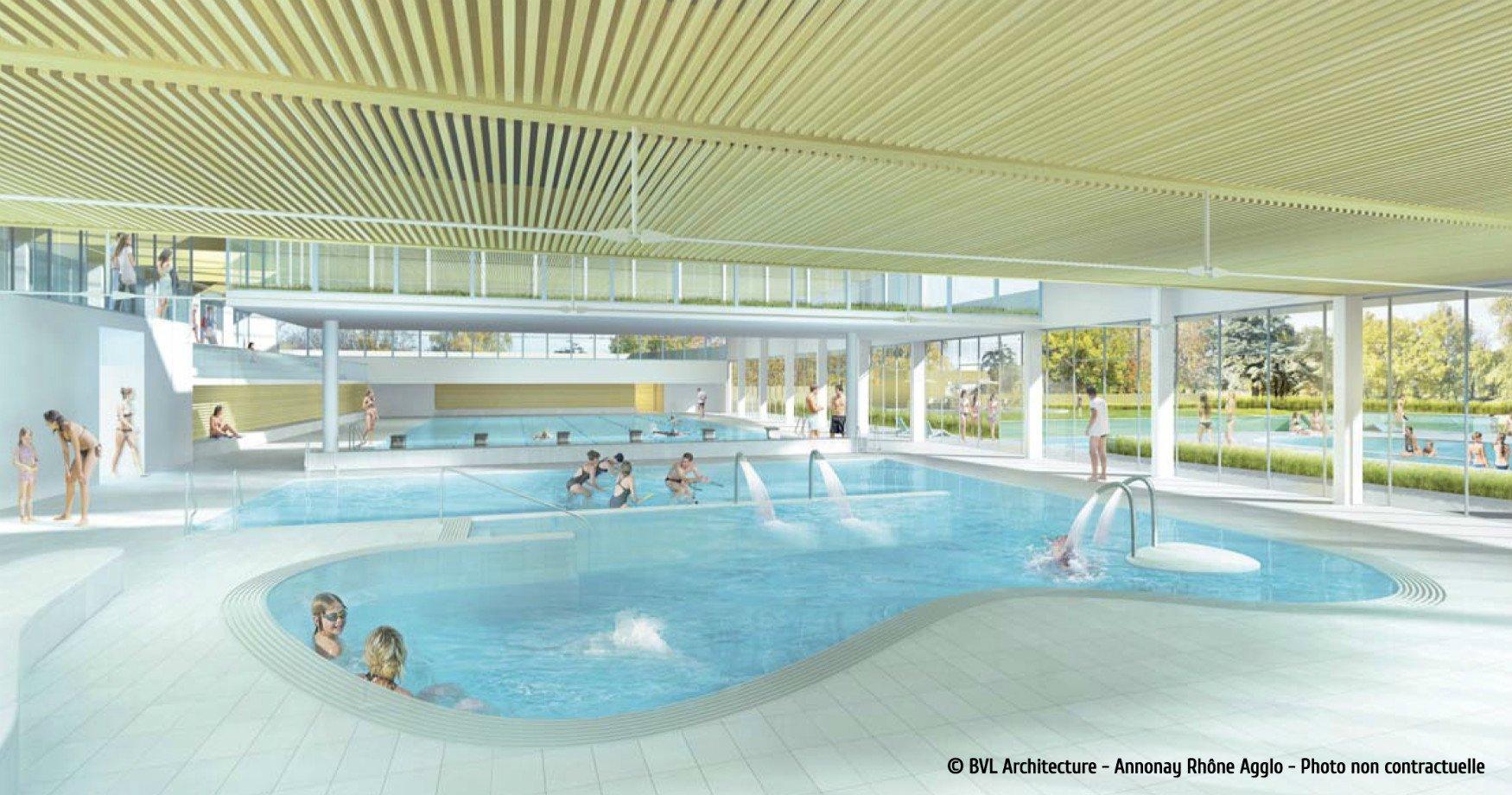 Aquavaure, Centre Aquatique Et Piscines À Annonay | Ardèche ... tout Piscine Annonay