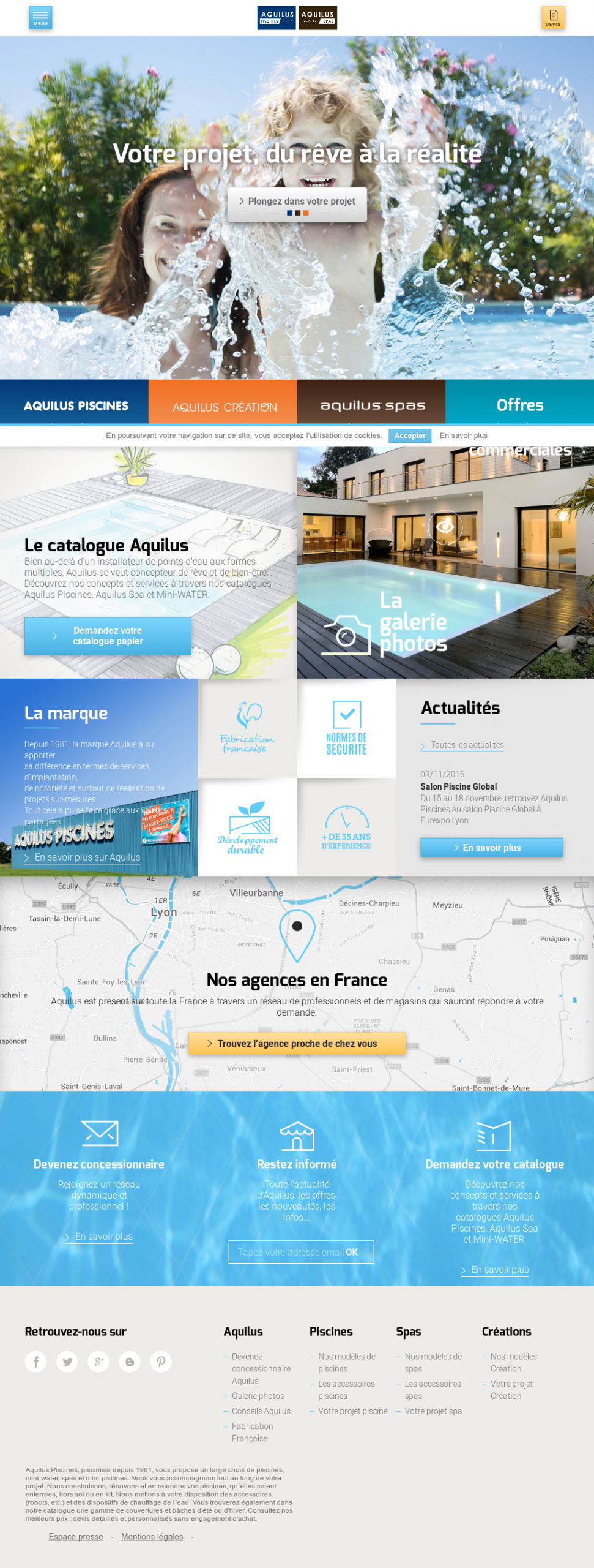 Aquilus, Piscines Et Spas Competitors, Revenue And Employees ... dedans Piscine Aquilus