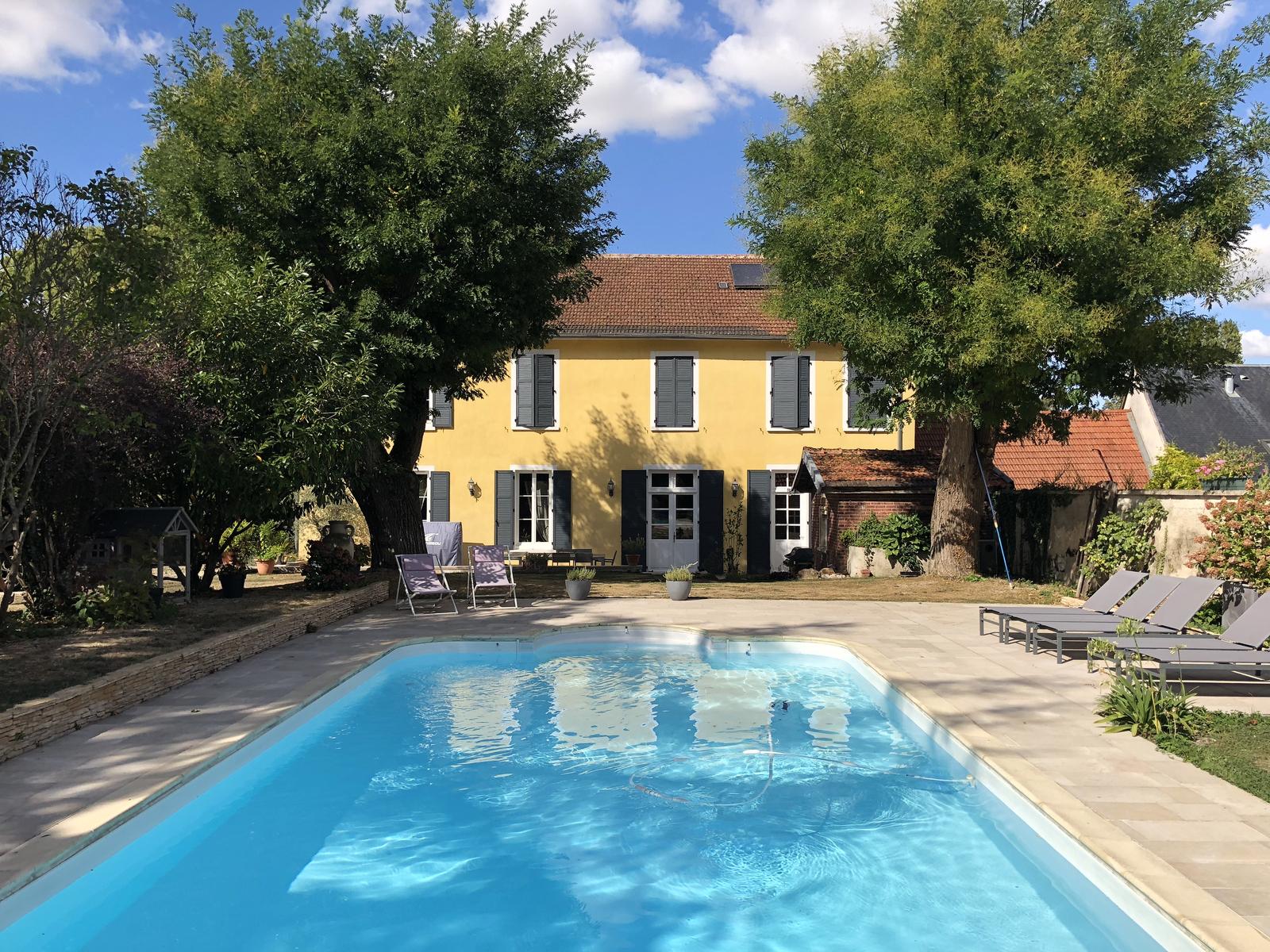 Arcis-Sur-Aube, Maison, 450 000 Euros Sur Immobilier.lefigaro.fr concernant Piscine Arcis Sur Aube