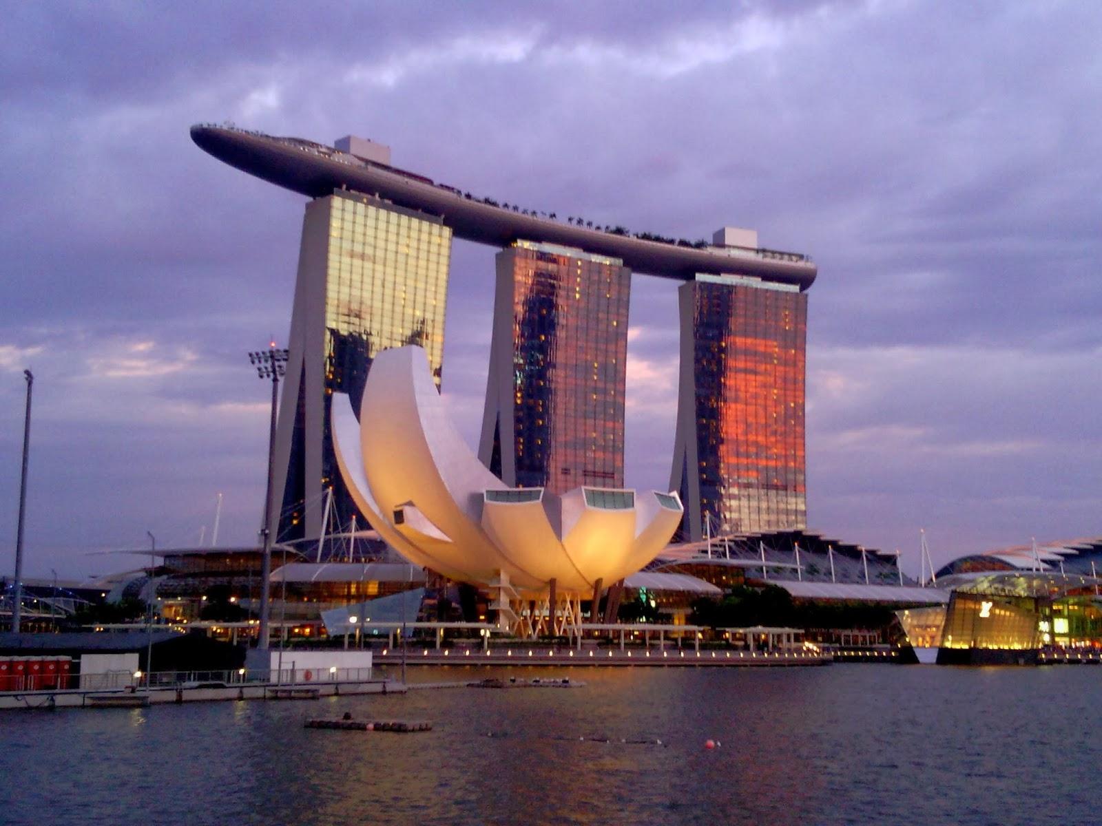 Ariane À Singapour!: Infinity Pool avec Piscine Singapour