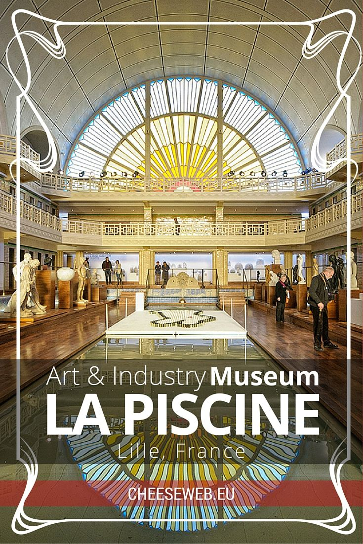 Art And Industry At La Piscine Museum, Lille, France ... intérieur Piscine Nord Pas De Calais