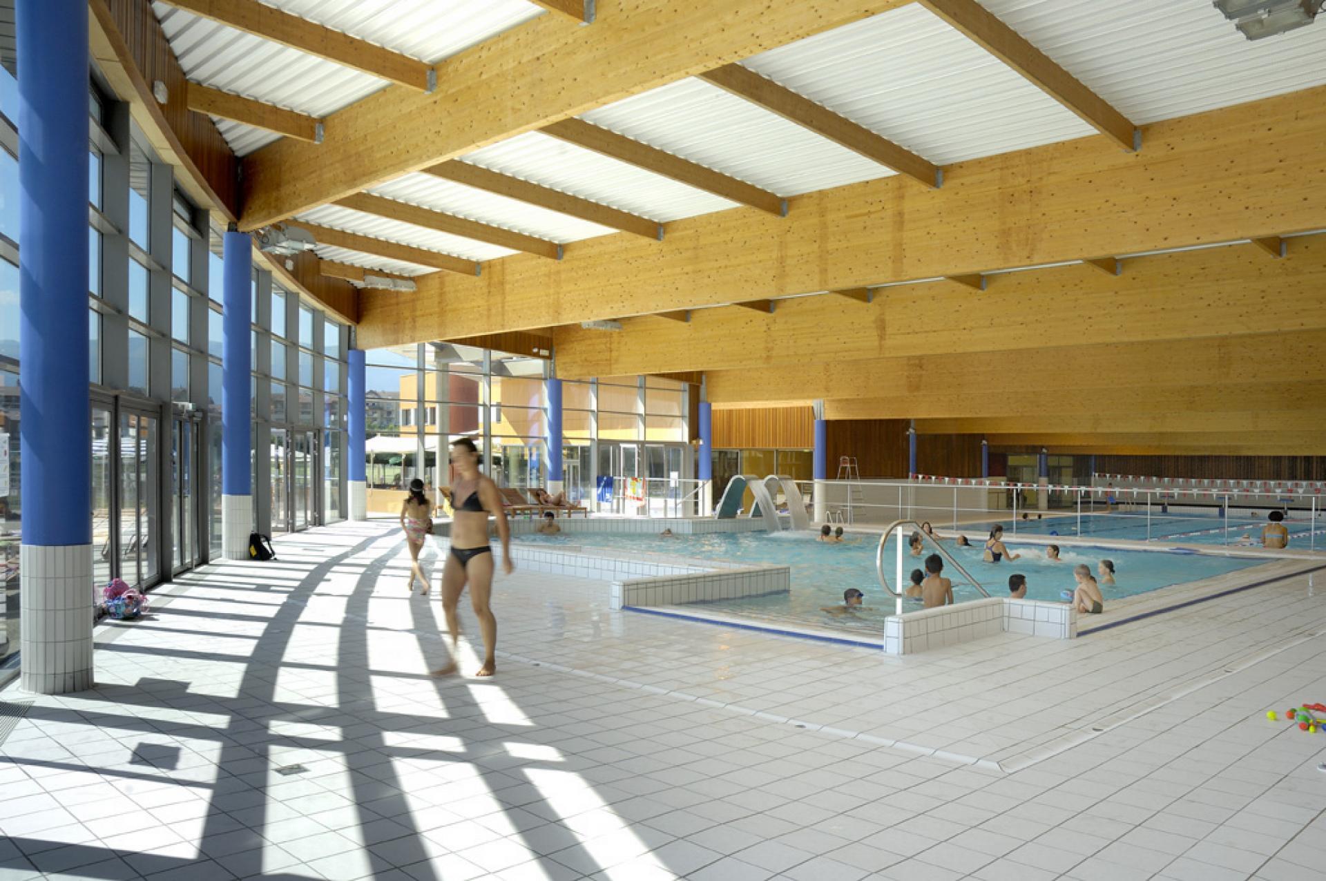 Atelier Arcos Architecture - Ferney Voltaire dedans Piscine Ferney Voltaire