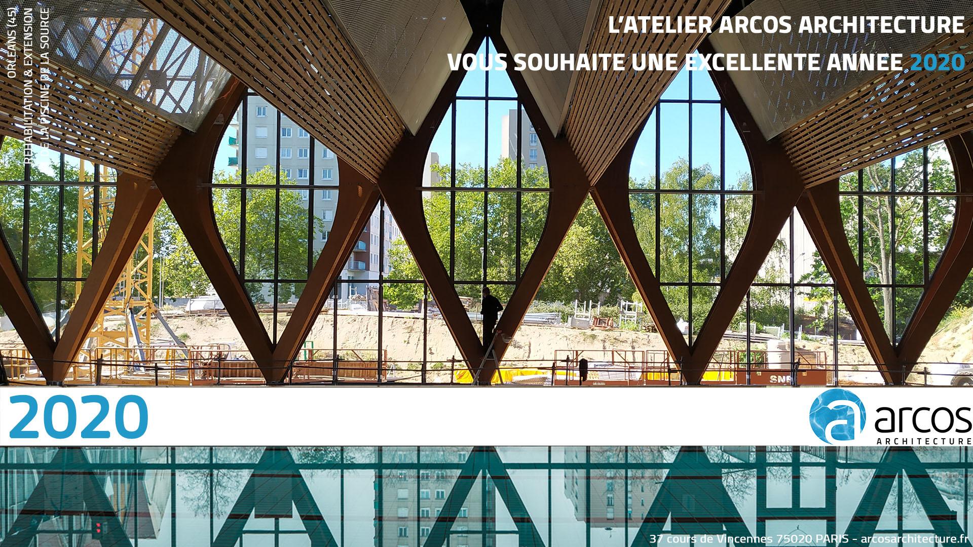 Atelier Arcos Architecture - Recherche intérieur Piscine Evreux Jean Bouin