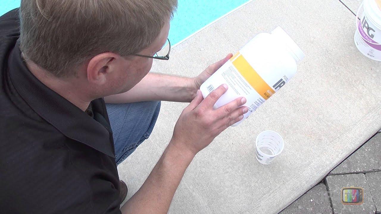 Augmenter L'alcalinité Totale De Votre Piscine pour Alcalinité Piscine