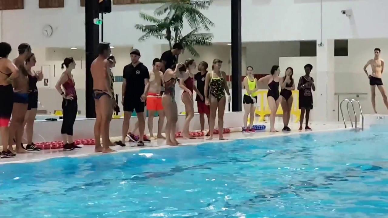 Australienne - Finale Swimcross Nautipolis Sophia Antipolis dedans Piscine Spilliaert