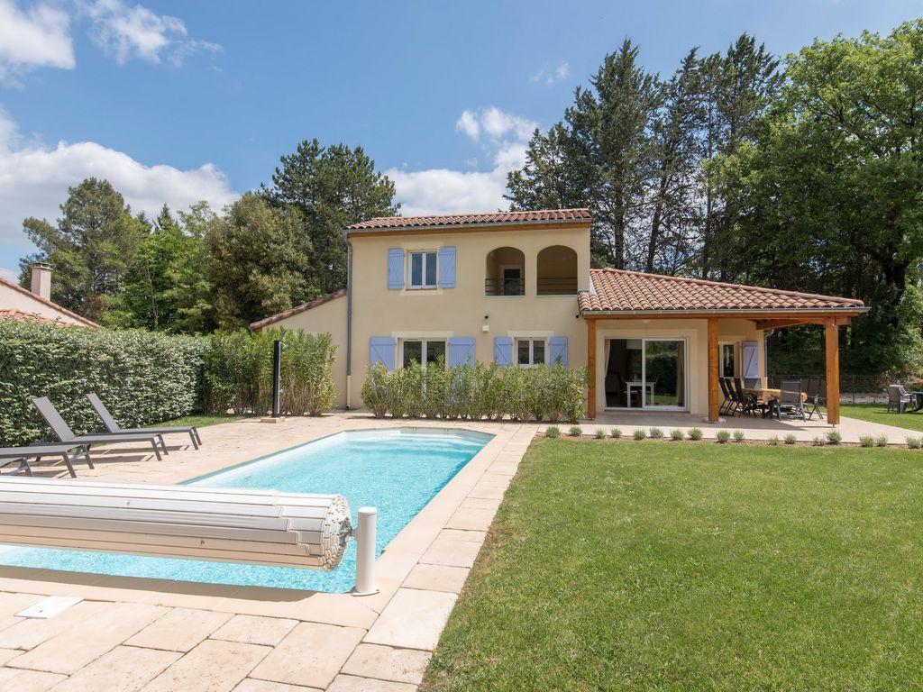 Avallon Villa Pour 8 Personnes Avec Piscine Privée - Vallon-Pont-D'arc tout Piscine Avallon