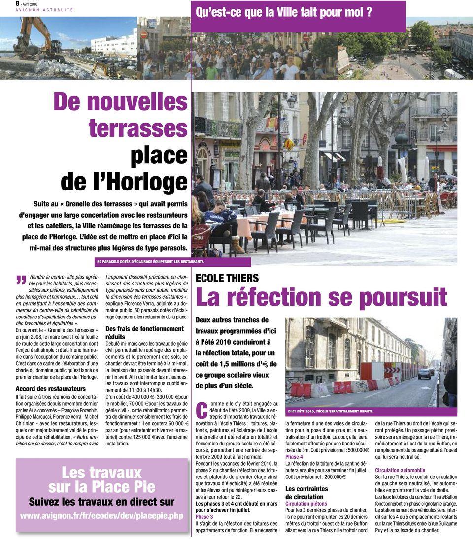 Avignon Actualité. La Ville Tient Ses Engagements De ... serapportantà Piscine Stuart Mill Avignon