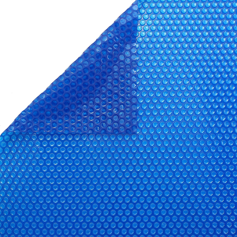 Bâche À Bulles 400 Microns Bleu/bleu - Apf In 2020 intérieur Bache À Bulles Piscine