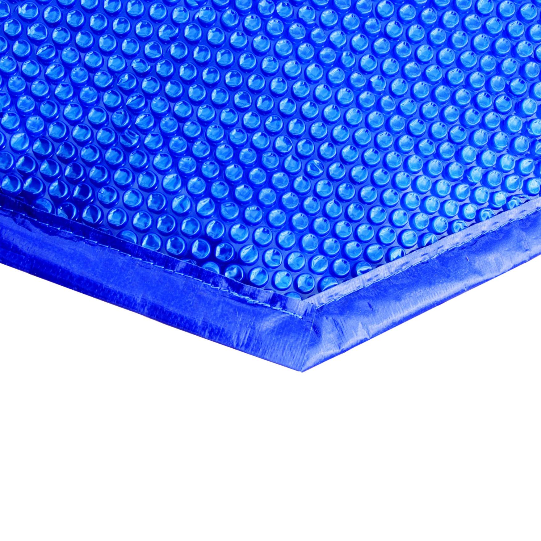 Bâche À Bulles Bordée Pour Piscine Hexagonale Ø 5,1 M Ubbink - Mr.bricolage avec Bache À Bulles Piscine