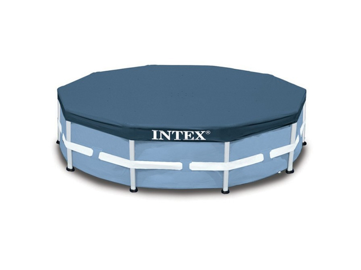 Bâche De Protection Pour Piscine Tubulaire Ronde - Intex - Ø 3.05 M serapportantà Bache Piscine Intex 3.66