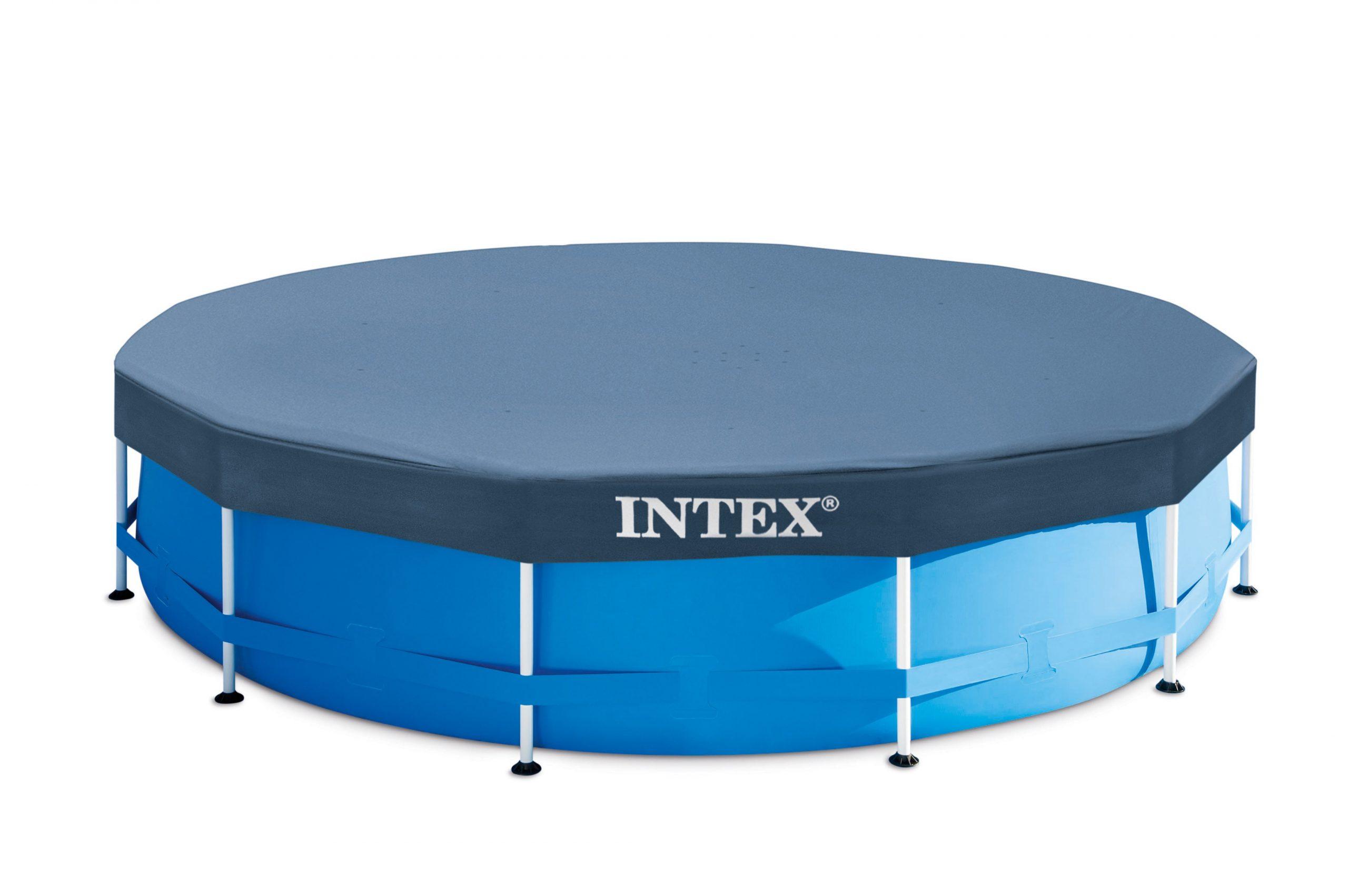 Bâche Hiver Intex De Protection Pour Piscine Ronde 3M66, Diam. 366 Cm dedans Bache Piscine Intex 3.66