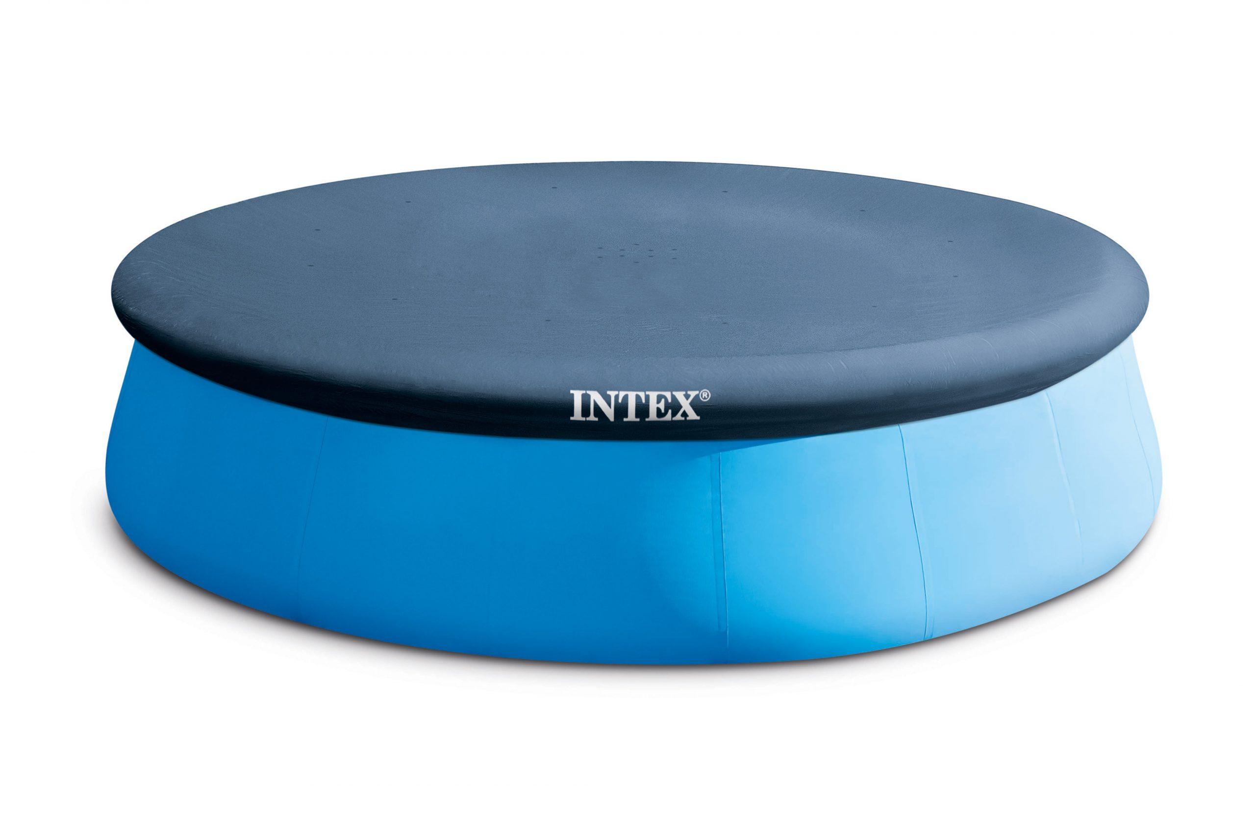 Bâche Hiver Intex Pour Piscine Autoportante Diam 3,96 M, Diam. 3.96 Cm dedans Bache Piscine Intex 3.66