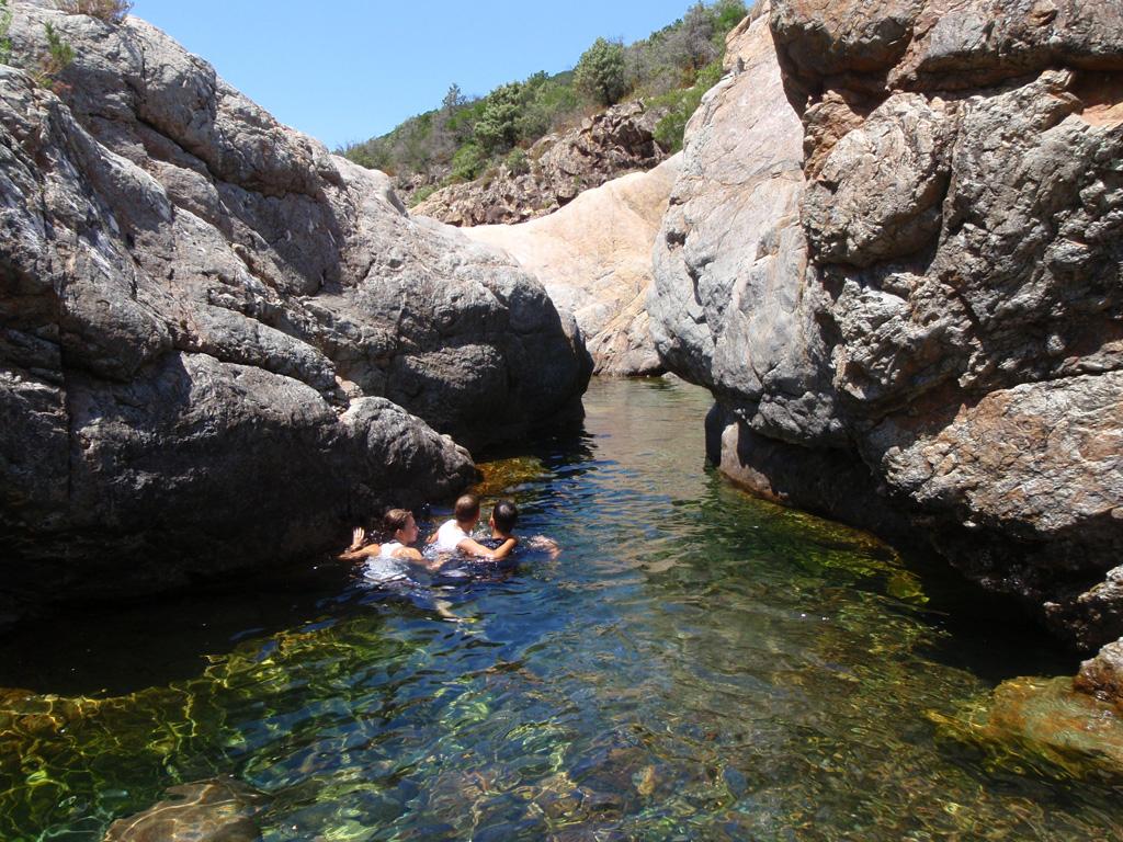 Baignade Dans Le Fango encequiconcerne Piscine Naturelle D Eau Chaude Corse Du Sud