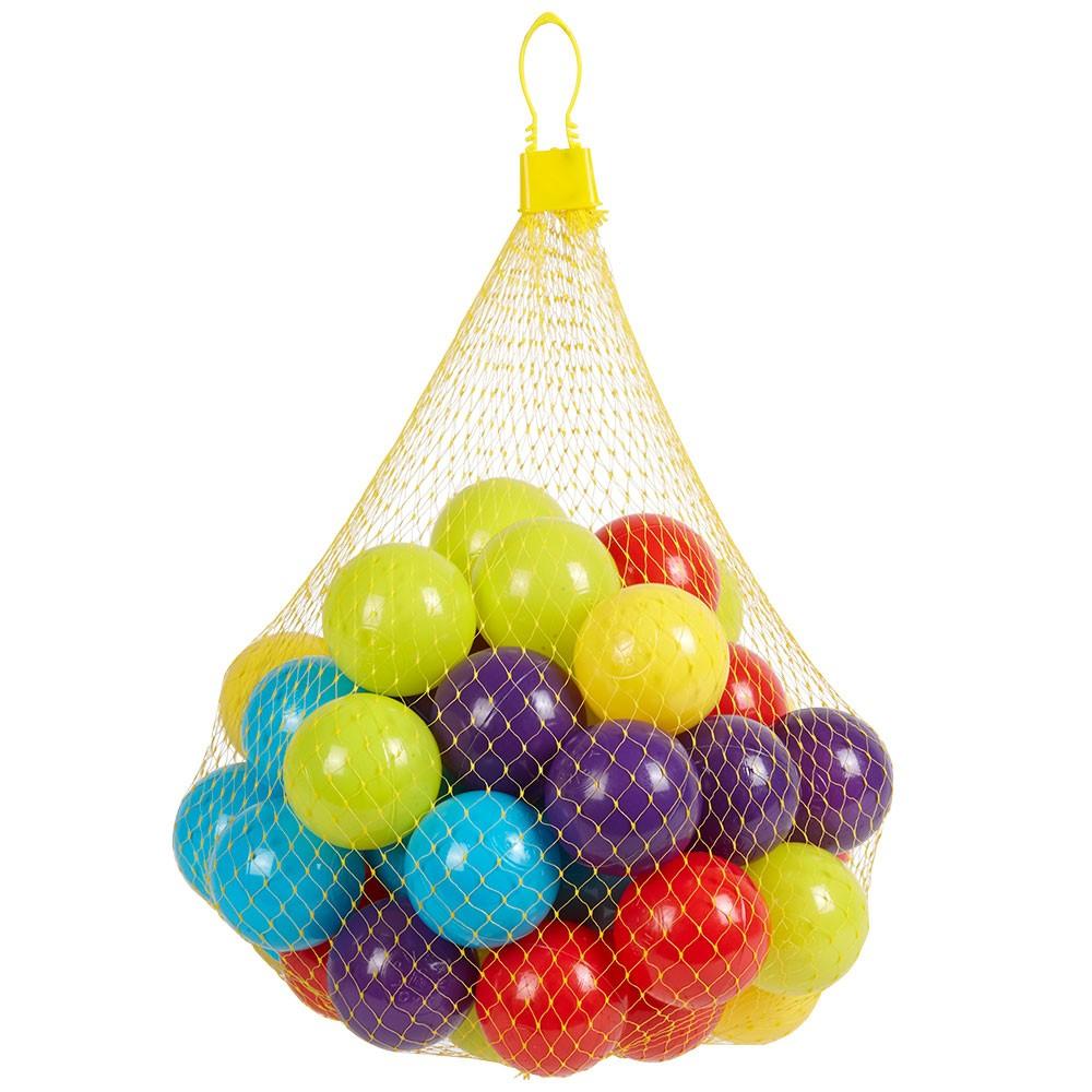 Balle Multicolore X50 pour Piscine A Balle Gifi