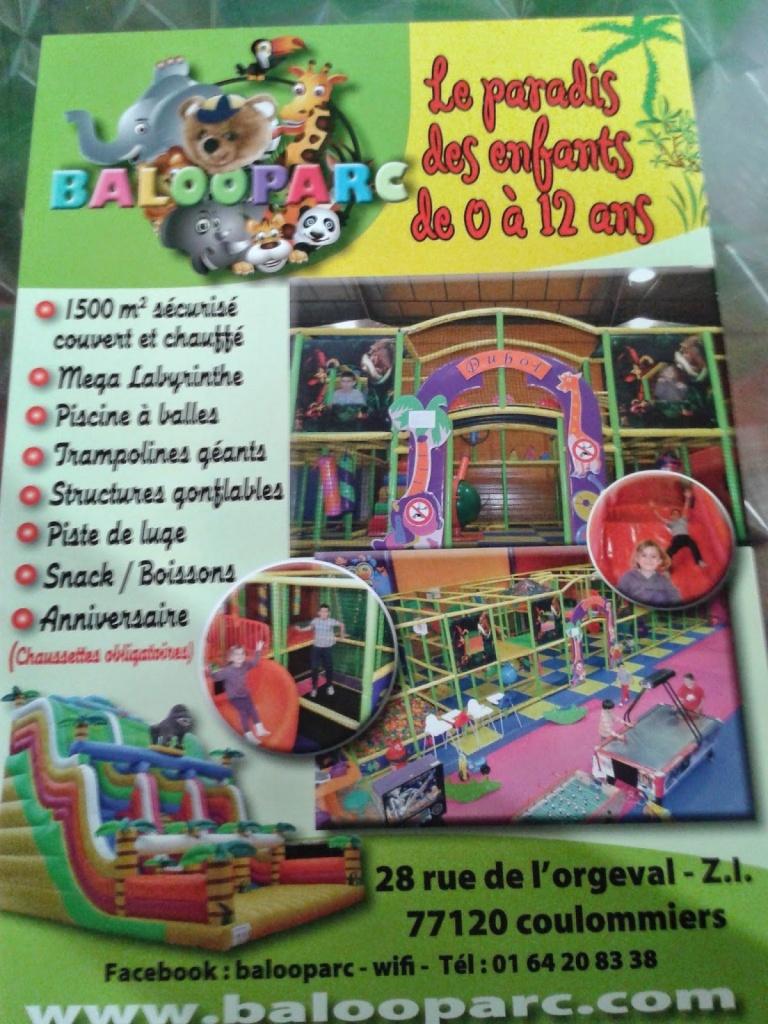 Baloo Parc Coulommiers - Parc D'attraction (Adresse ... concernant Piscine Coulommiers Horaires