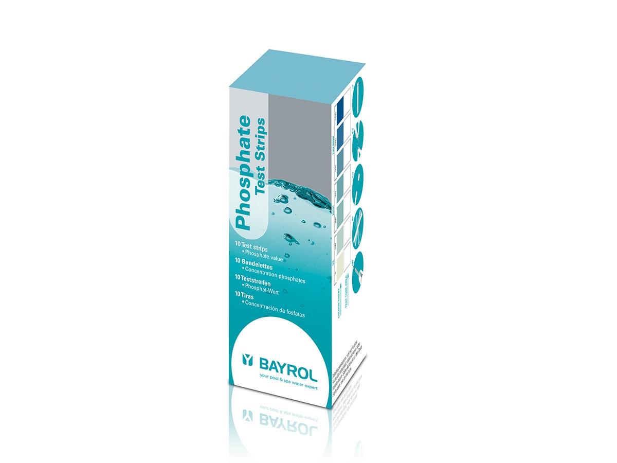 Bandelettes De Test Phosphate - Bayrol avec Analyse Eau Piscine
