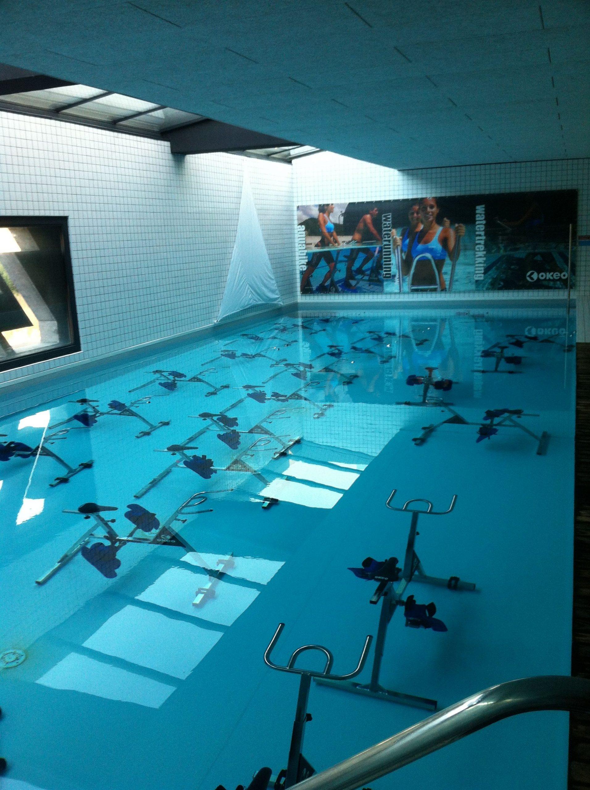Bassin Aquabiking | Gym Facilities, Swimming Pools, Workout ... à Piscine Les Milles