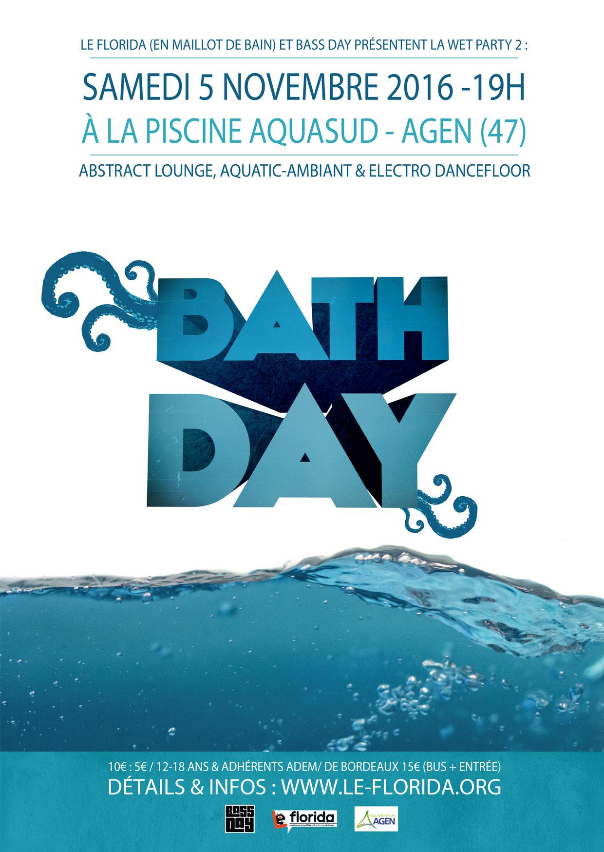 Bath Day | Le Florida - [Agen-47] concernant Musique Piscine