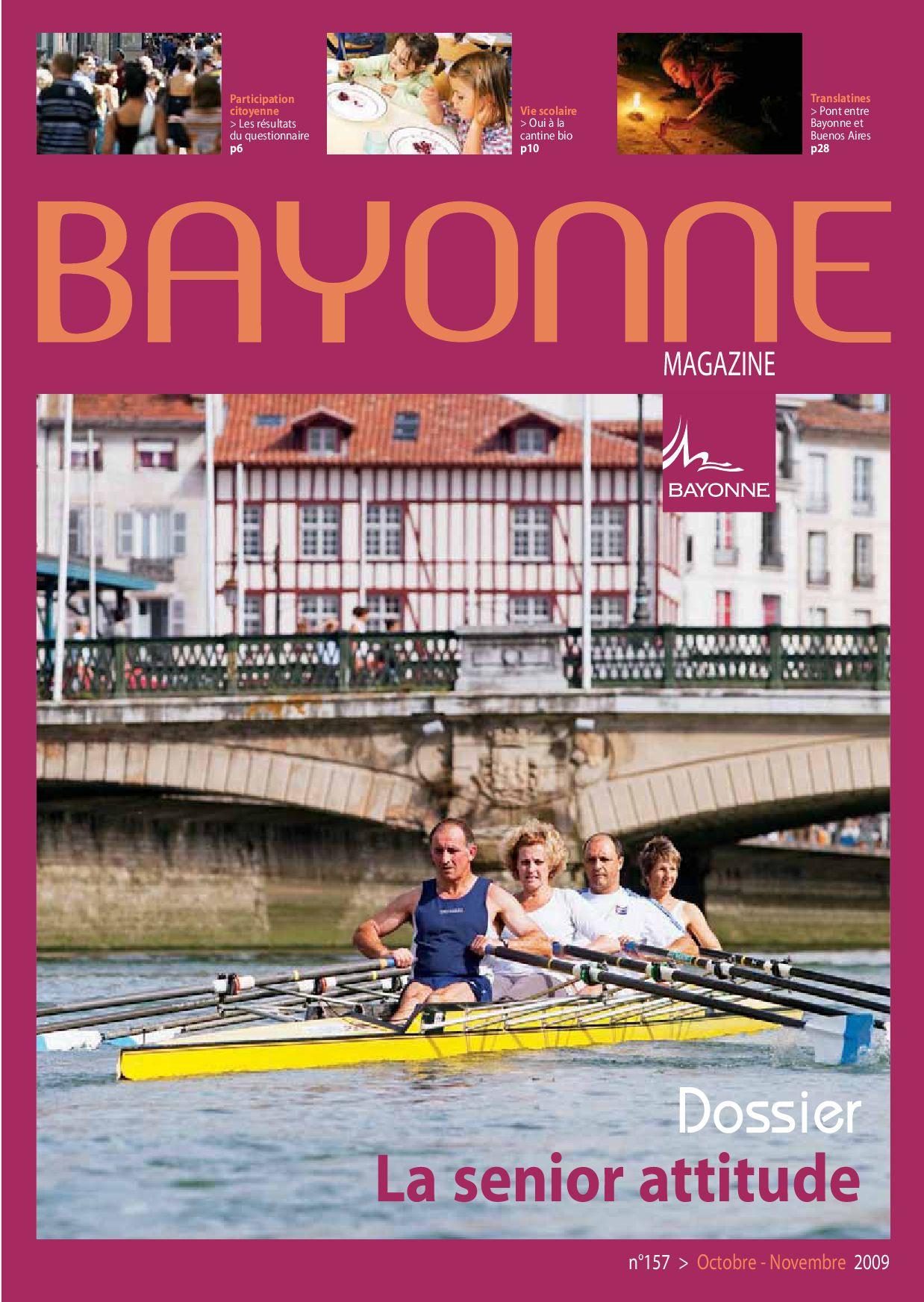 Bayonne Mag 157 Sept-Oct 2009 By Bayonne - Issuu dedans Centre Aquatique Des Hauts De Bayonne Piscine Bayonne