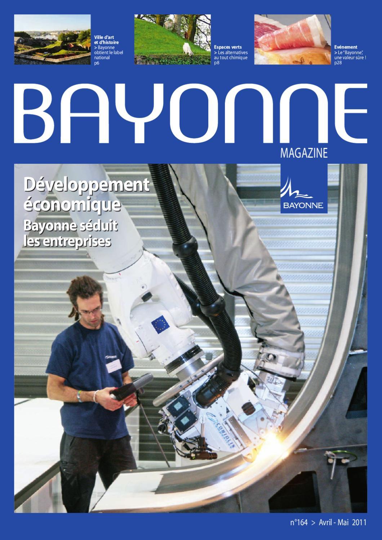 Bayonne Magazine 164, Avril - Mai 2011 By Bayonne - Issuu encequiconcerne Centre Aquatique Des Hauts De Bayonne Piscine Bayonne