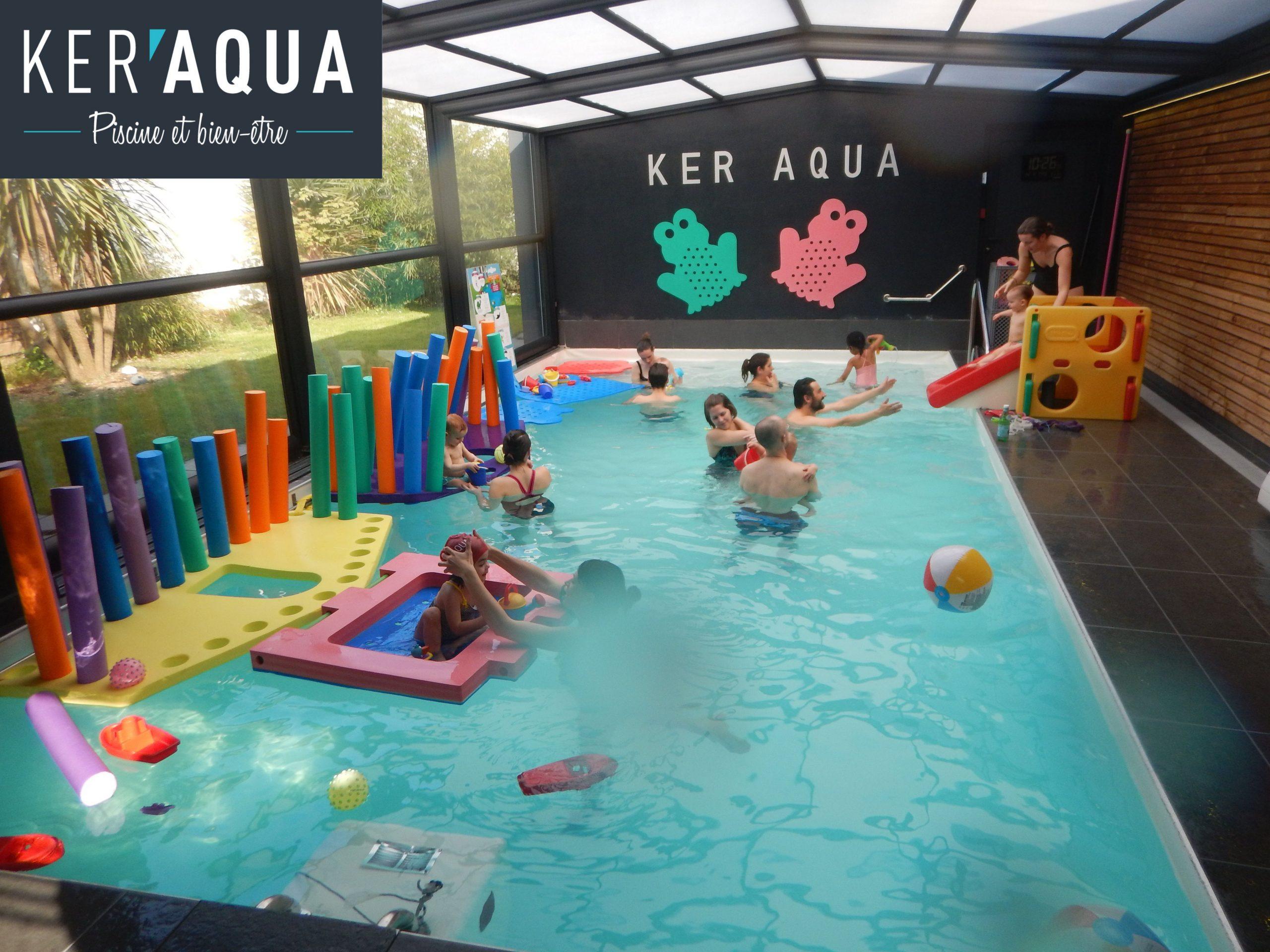 Bébé Nageur Et Éveil Aquatique À Rennes - Ker Aqua, Piscine ... destiné Piscine De Cesson