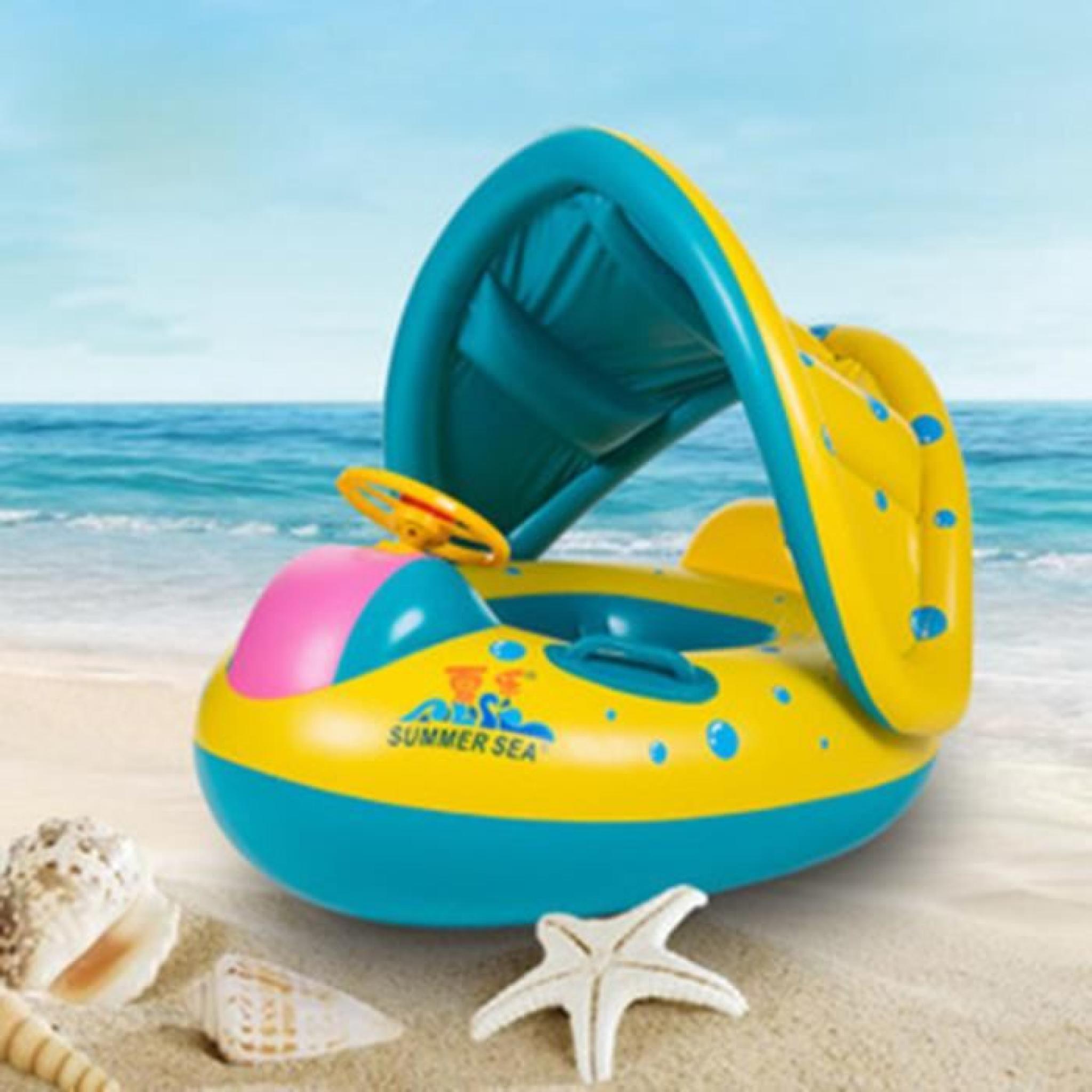 Bébé Protection Bouée Gonflable Plus Épais Anneau De Natation Gonflable  Avec Siège intérieur Piscine Avec Siege