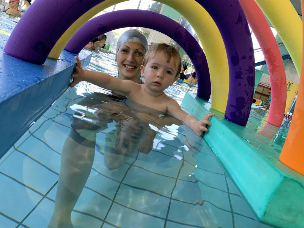 Bébés Nageurs (4 Mois - 6 Ans) - Parc Aquavert destiné Piscine Alai