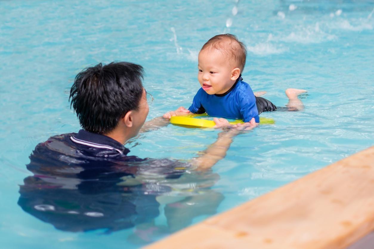 Bébés Nageurs, Un Bain D'épanouissement - Doctissimo à Piscine Bebe 2 Mois