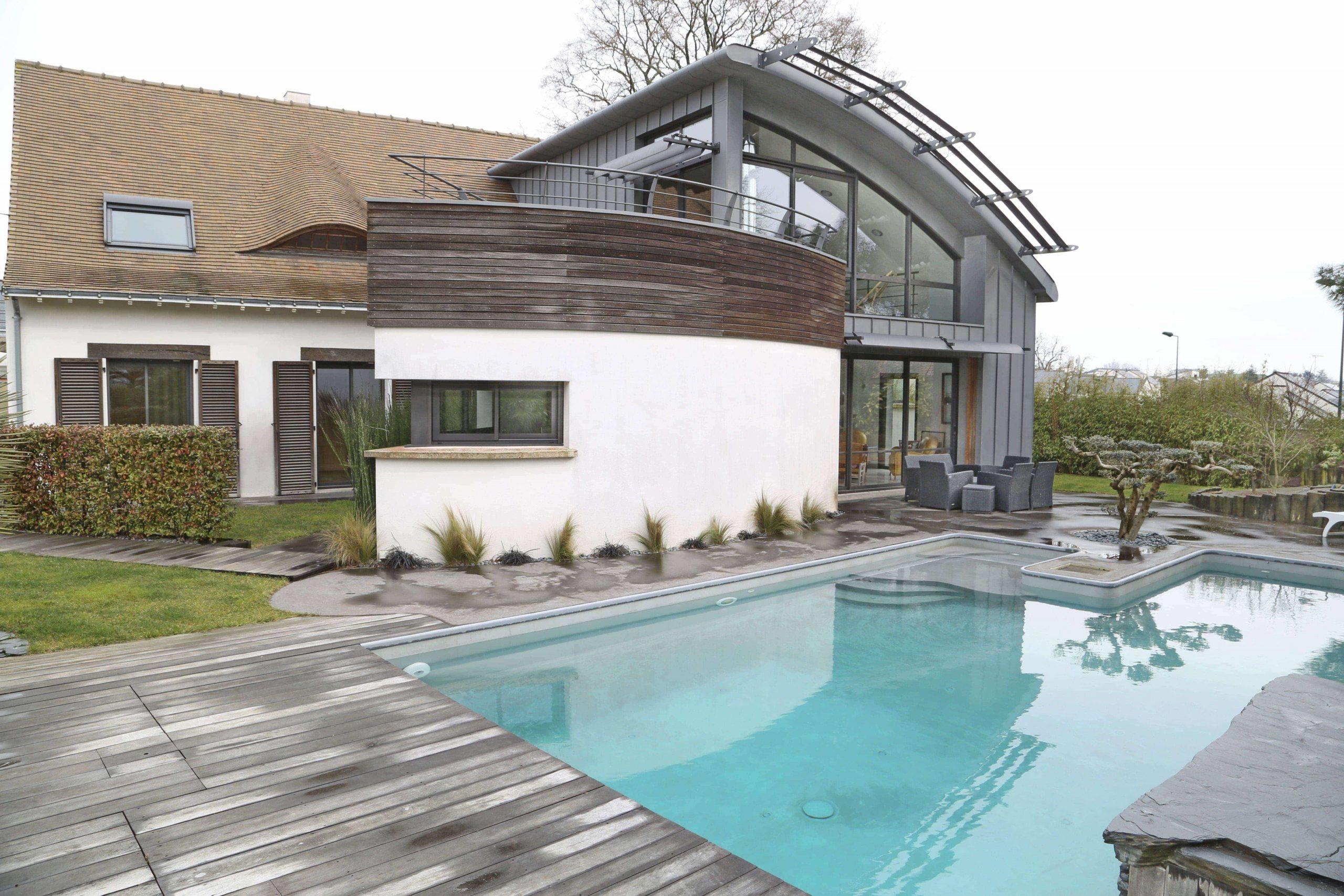 Belle Maison Contemporaine 300 M² Avec Piscine À Orvault encequiconcerne Piscine Orvault