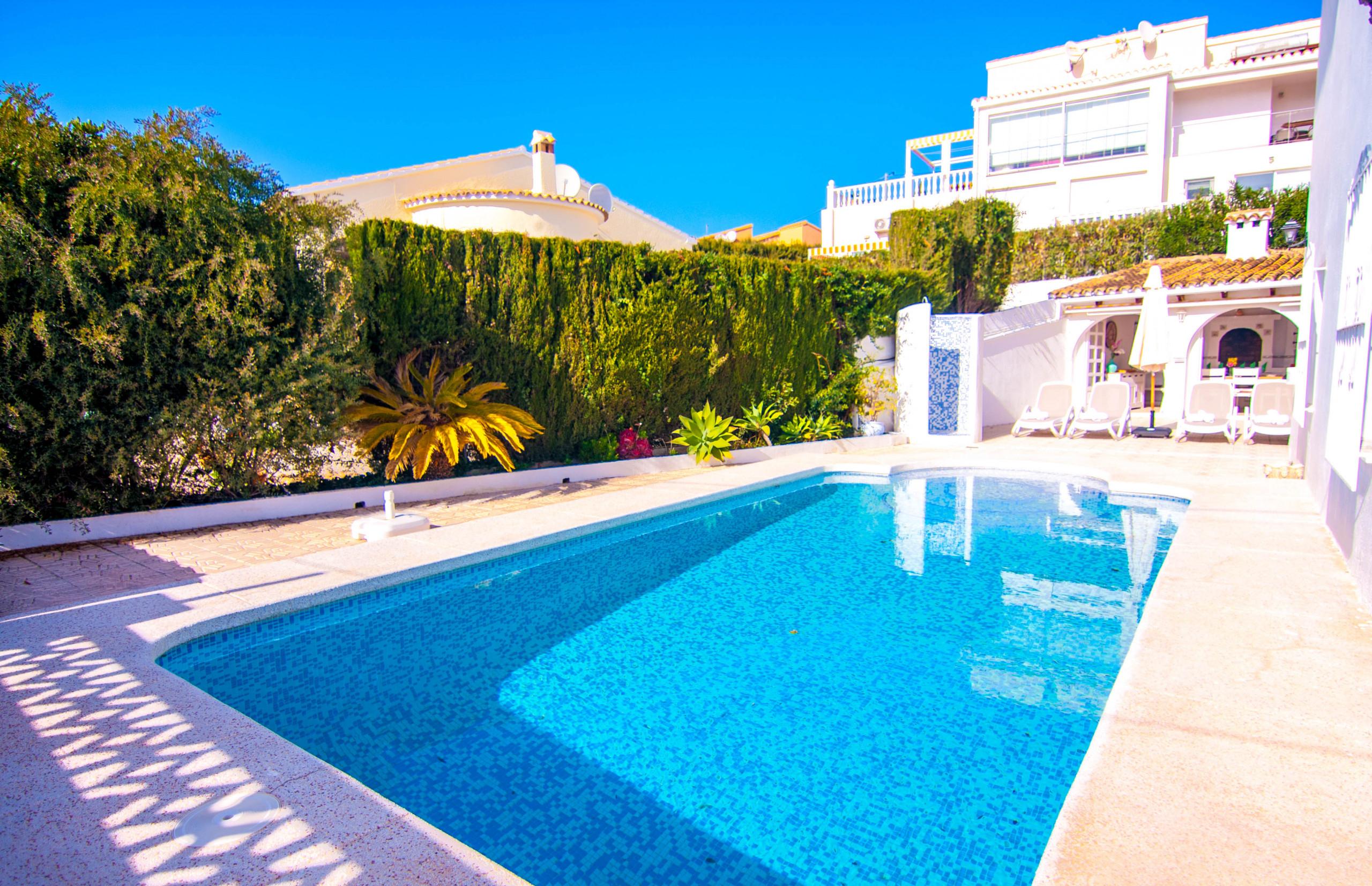 Belvic, Belle Et Confortable Villa À Calpe Avec Piscine Privée Wifi Gratuit à Location Villa Calpe Avec Piscine