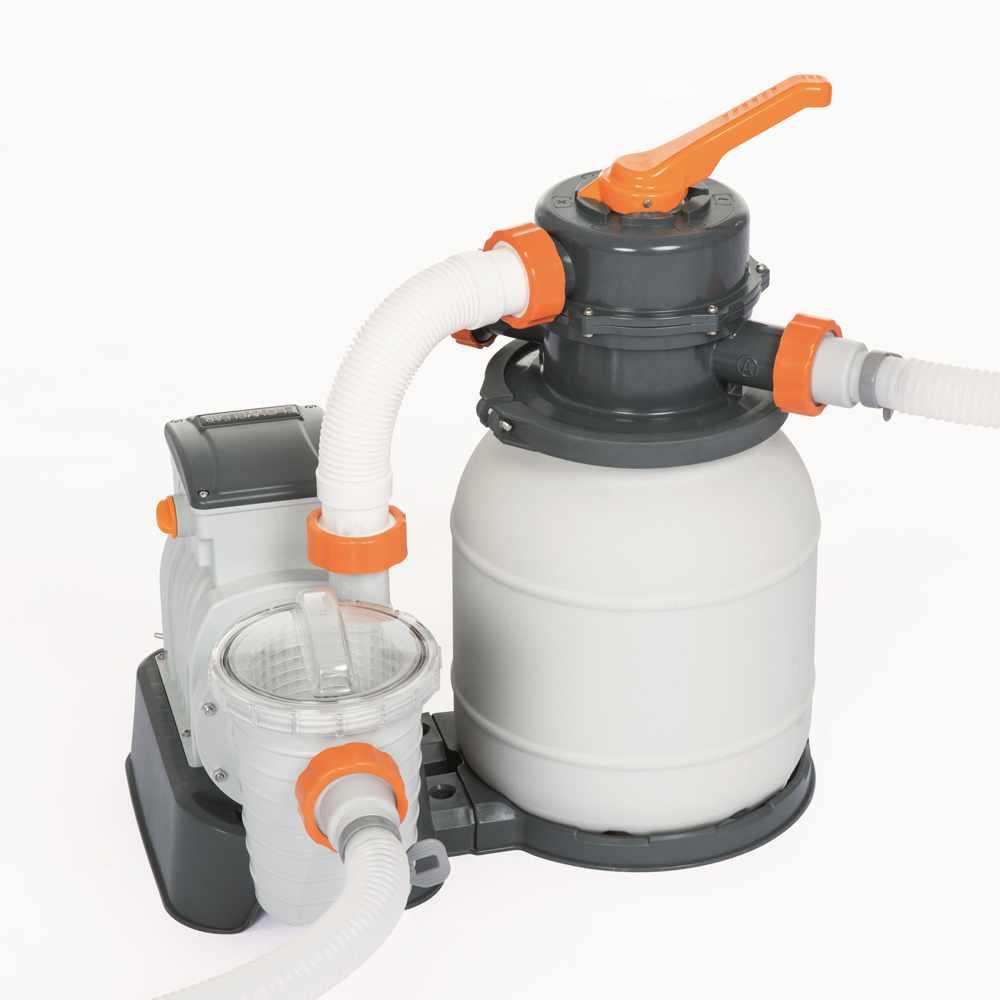 Bestway 58495 Flowclear Pompe Filtre À Sable De 3785 L/h Pour Piscine pour Pompe Piscine Bestway