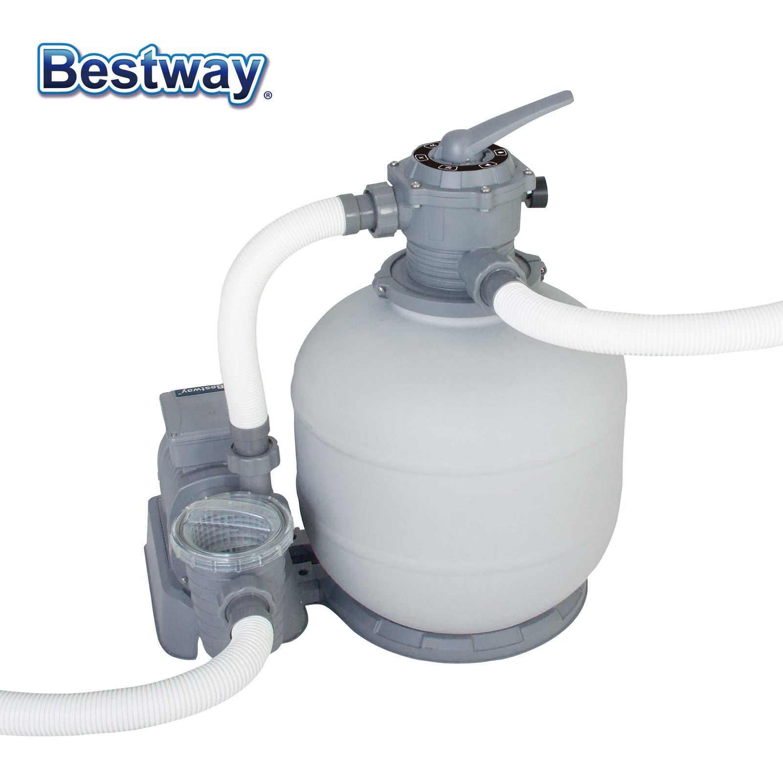 Bestway Flowclear Filtre À Sable 58366 Pompe Pour Piscines ... dedans Pompe Piscine Bestway