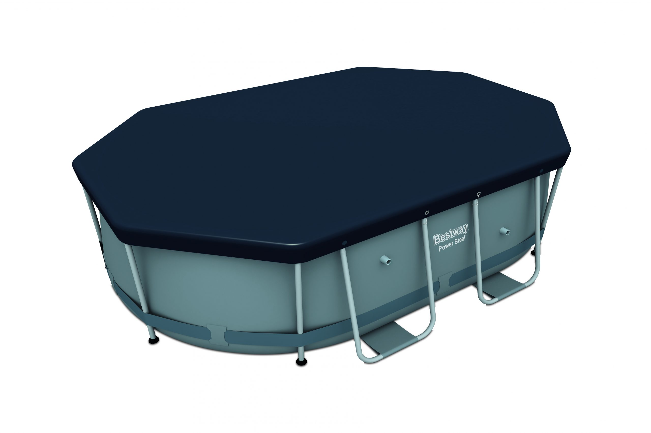 Bestway Winter Cover For Oval Tubular Pools tout Bache Piscine Tubulaire