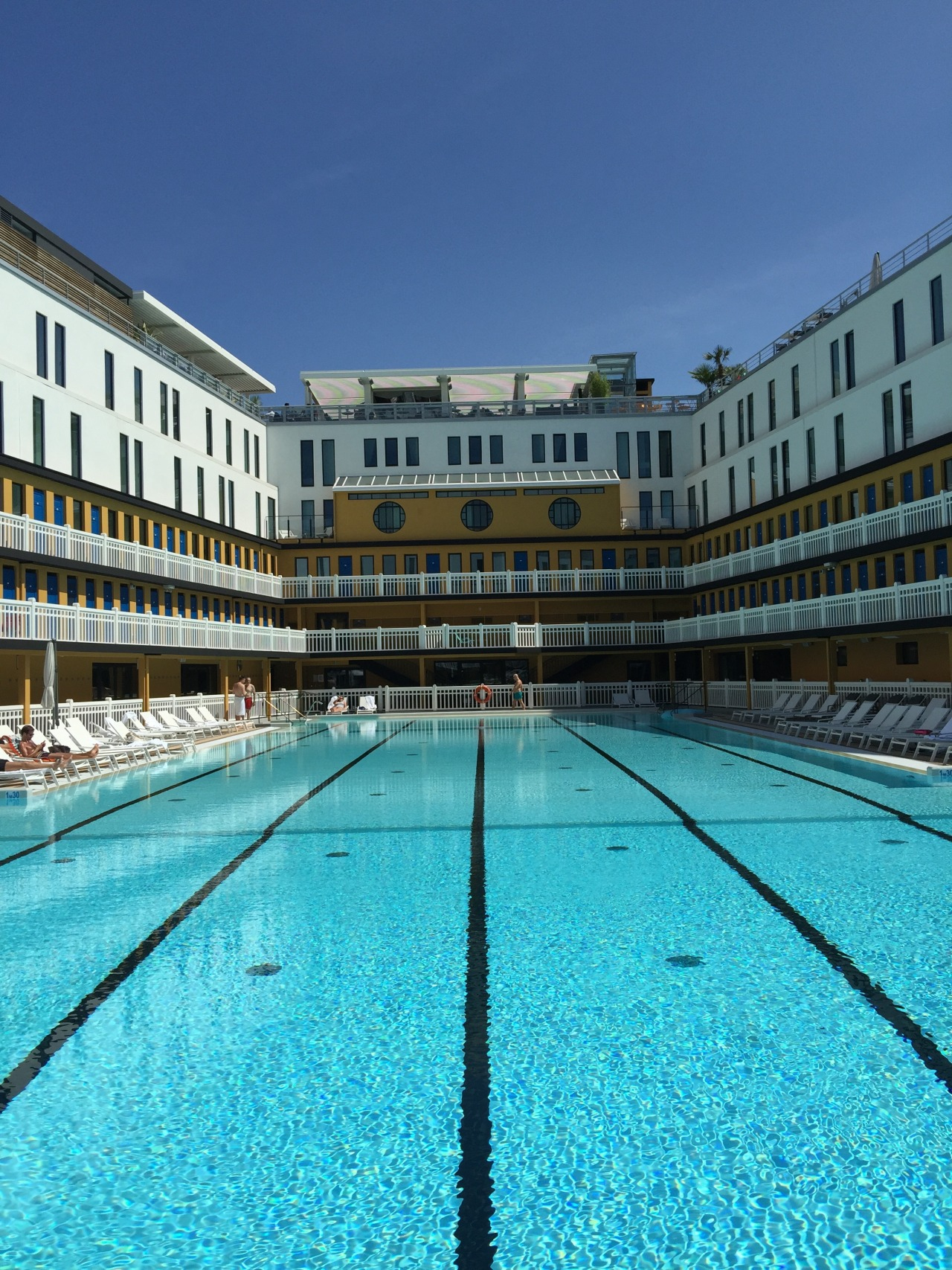 Beyond My Reflexion, By Olivier Billon - Piscine Molitor ... destiné Hotel Paris Piscine