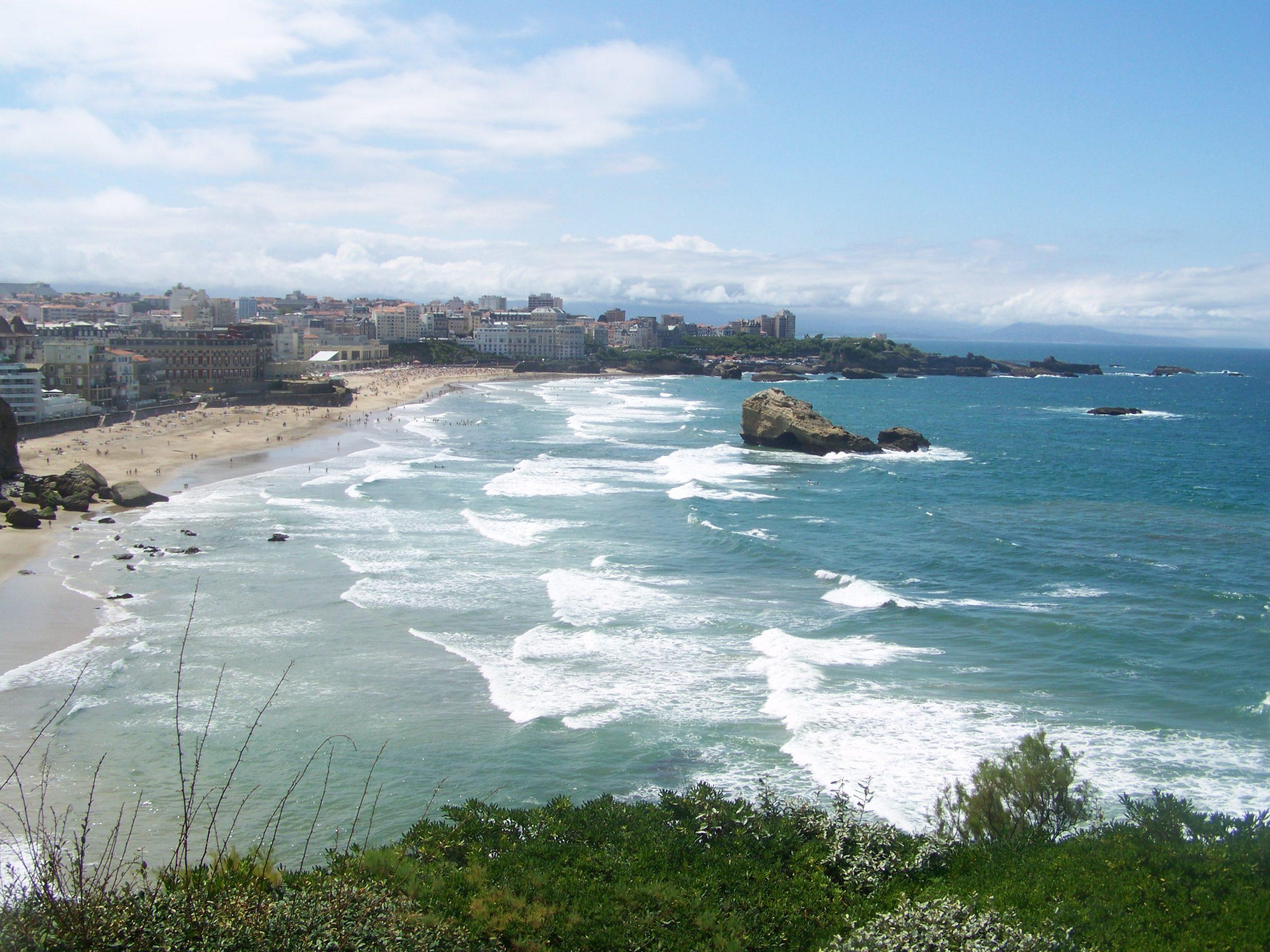 Biarritz - Wikipedia concernant Piscine Municipale Biarritz