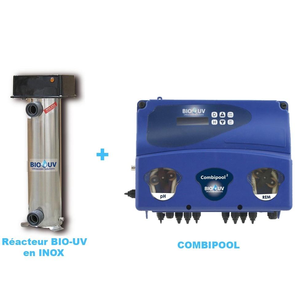 Bio-Uv Inox Avec Oxygene Actif - Package Traitement Uv Piscine encequiconcerne Traitement Piscine Oxygène Actif