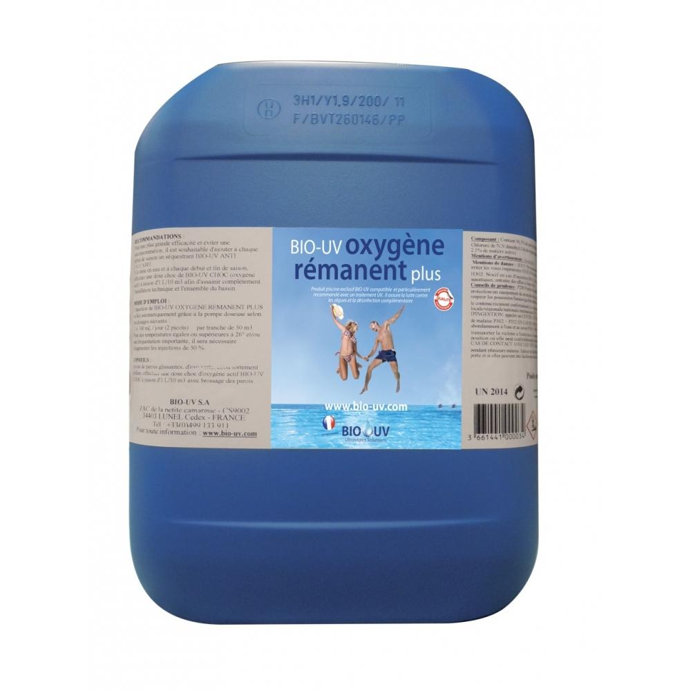 Bio-Uv Oxygene Remanent Plus Pour Traitement Piscine Uv encequiconcerne Traitement Piscine Oxygène Actif