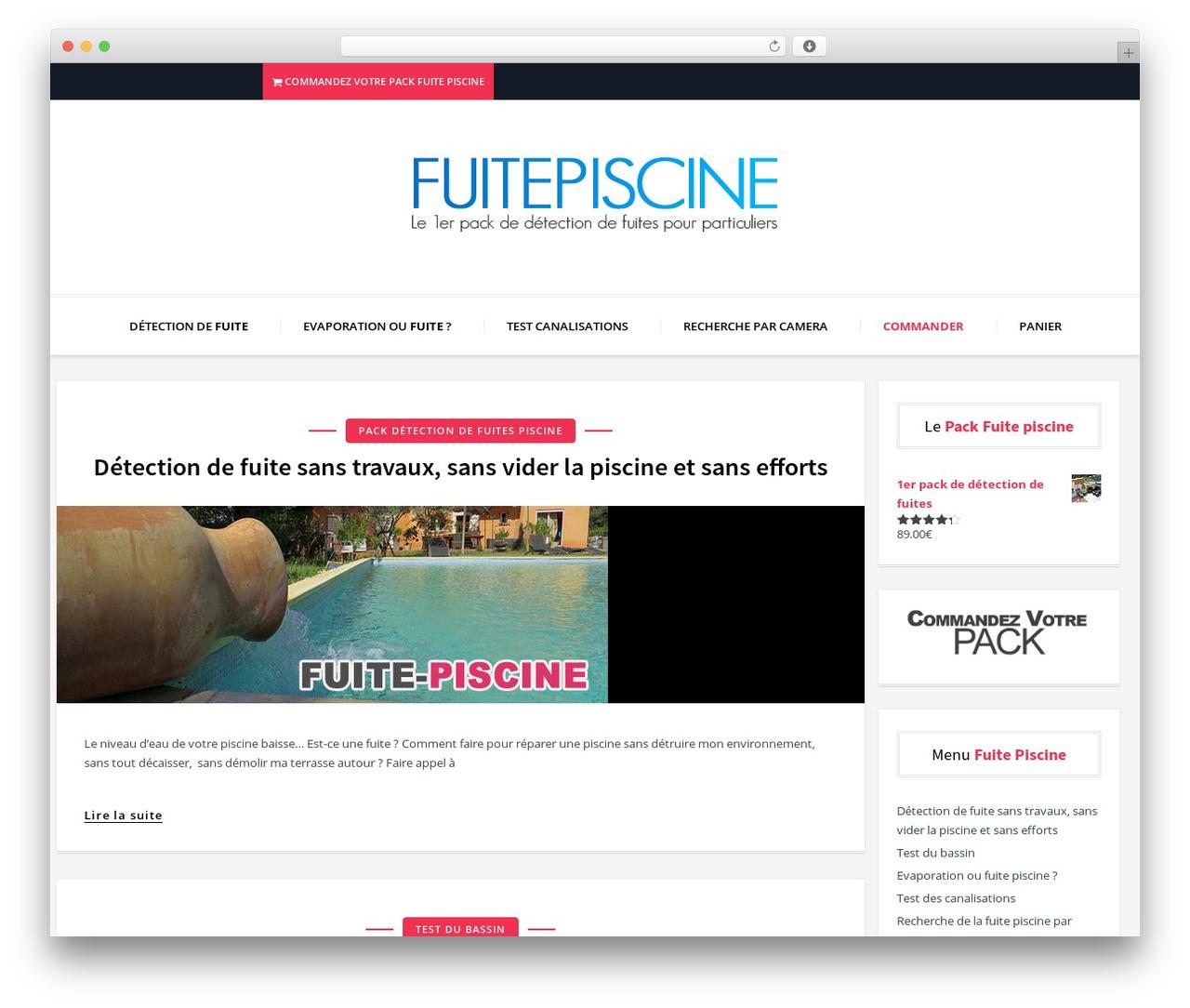 Blogon Wordpress Blog Template By Themewing - Fuite-Piscine serapportantà Vider Piscine