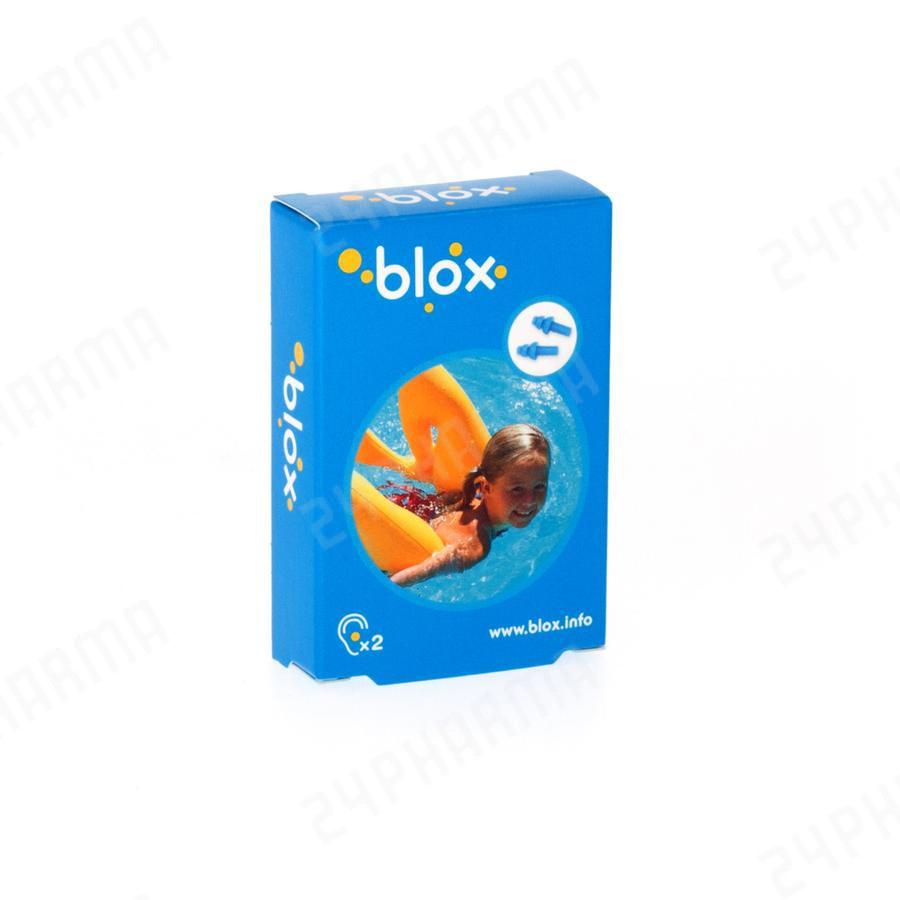 Blox Aquatique Bouchons D'oreille Piscine Enfant 1 Paire + Boîte De  Rangement En Plastique Cnk Code 2476968 encequiconcerne Bouchon D Oreille Piscine