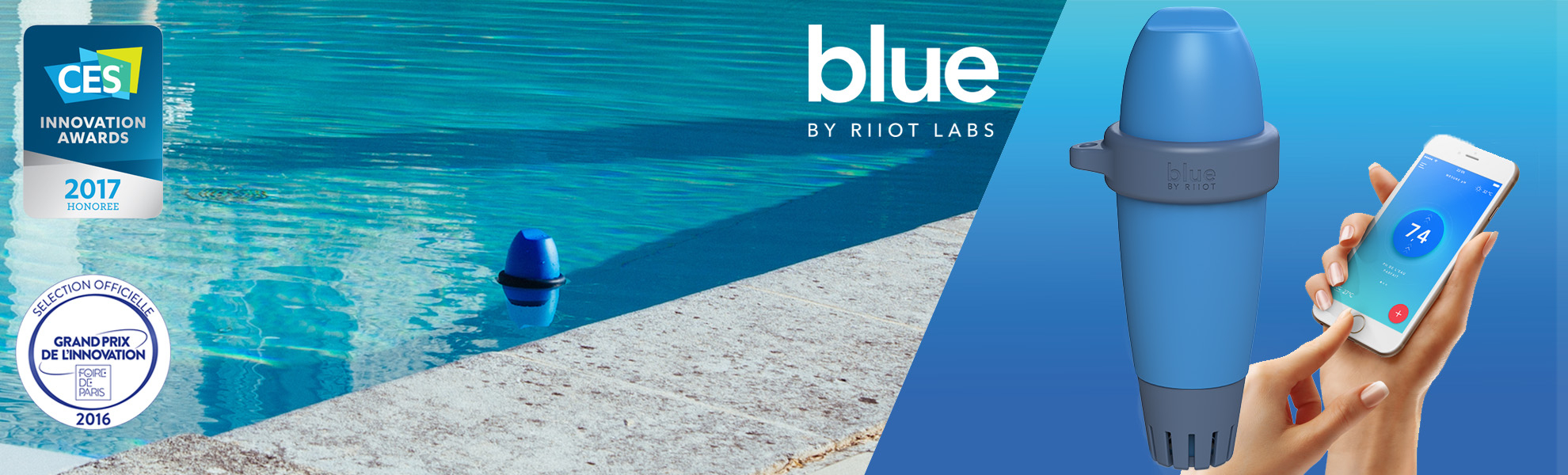 Blue By Riiot : Analyse Facile De L'eau De Votre Piscine serapportantà Analyse Eau Piscine