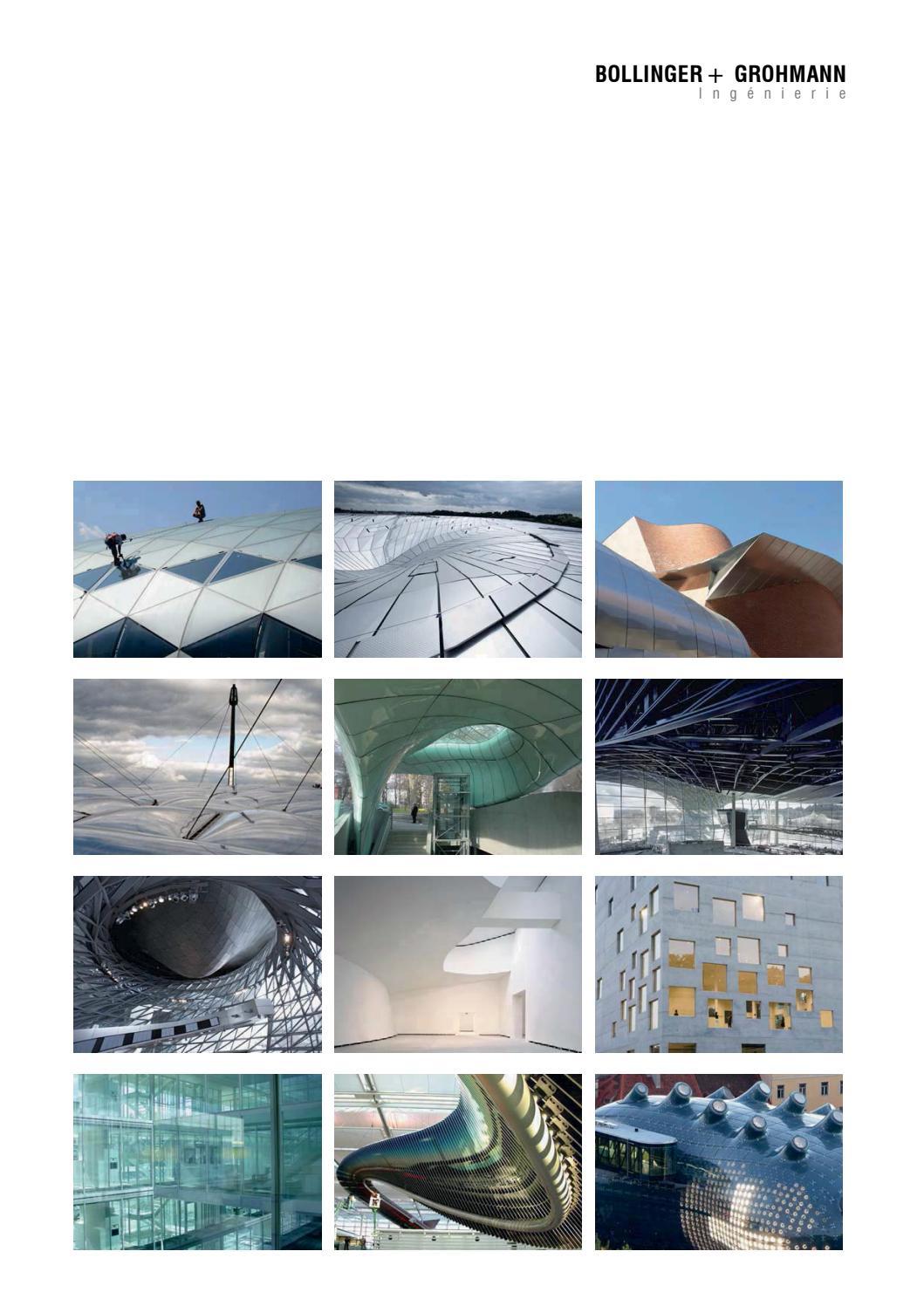 Bollinger Grohmann Paris Brochure By Bollinger + Grohmann ... intérieur Sdsl Piscine