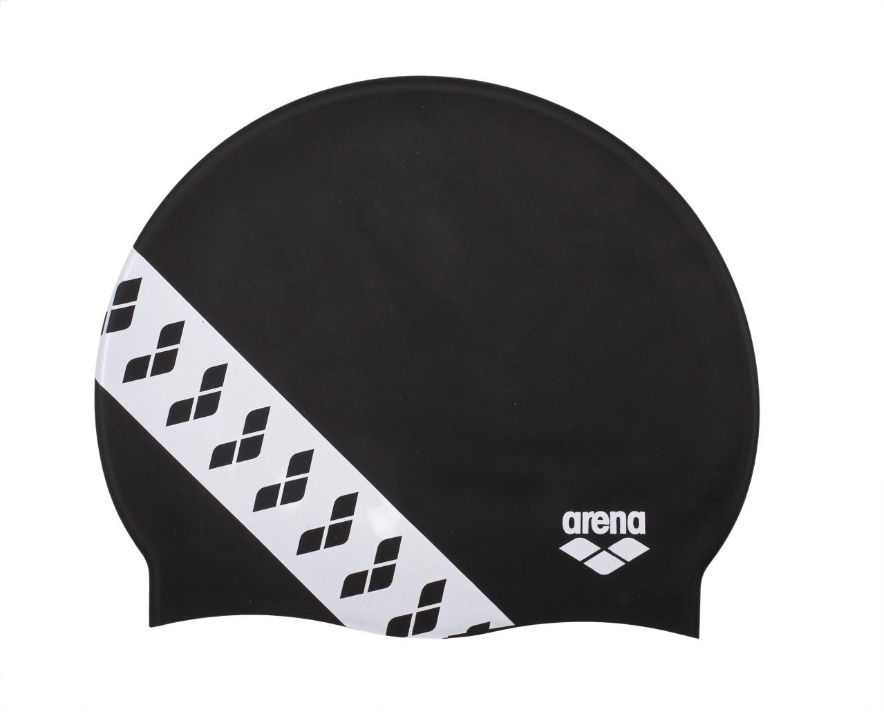 Bonnet De Bain - Arena Silicone Team Stripe 001463 dedans Bonnet De Bain Piscine