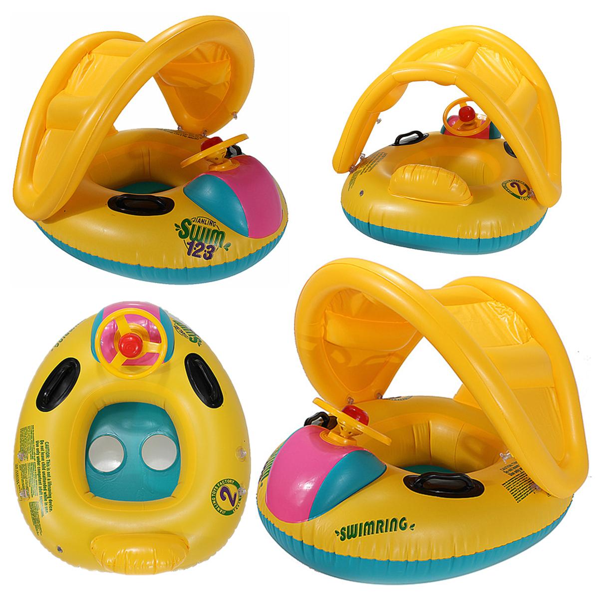 Bouée Siège Gonflable Parasol À Bébé Enfant 6-18 Mois 15Kg ... encequiconcerne Matelas Gonflable Piscine Decathlon